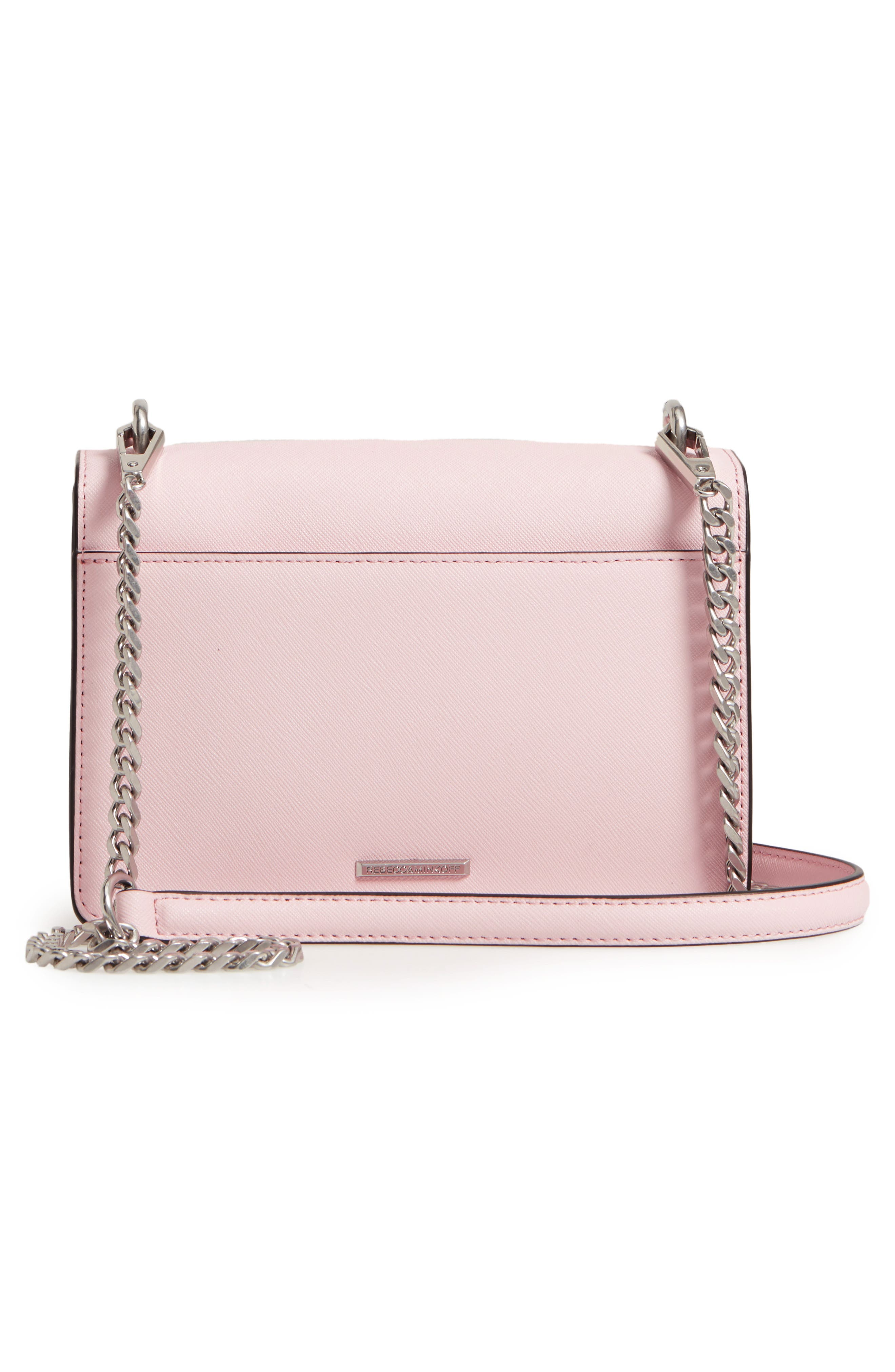 Medium Christy Leather Shoulder Bag,                             Alternate thumbnail 15, color,