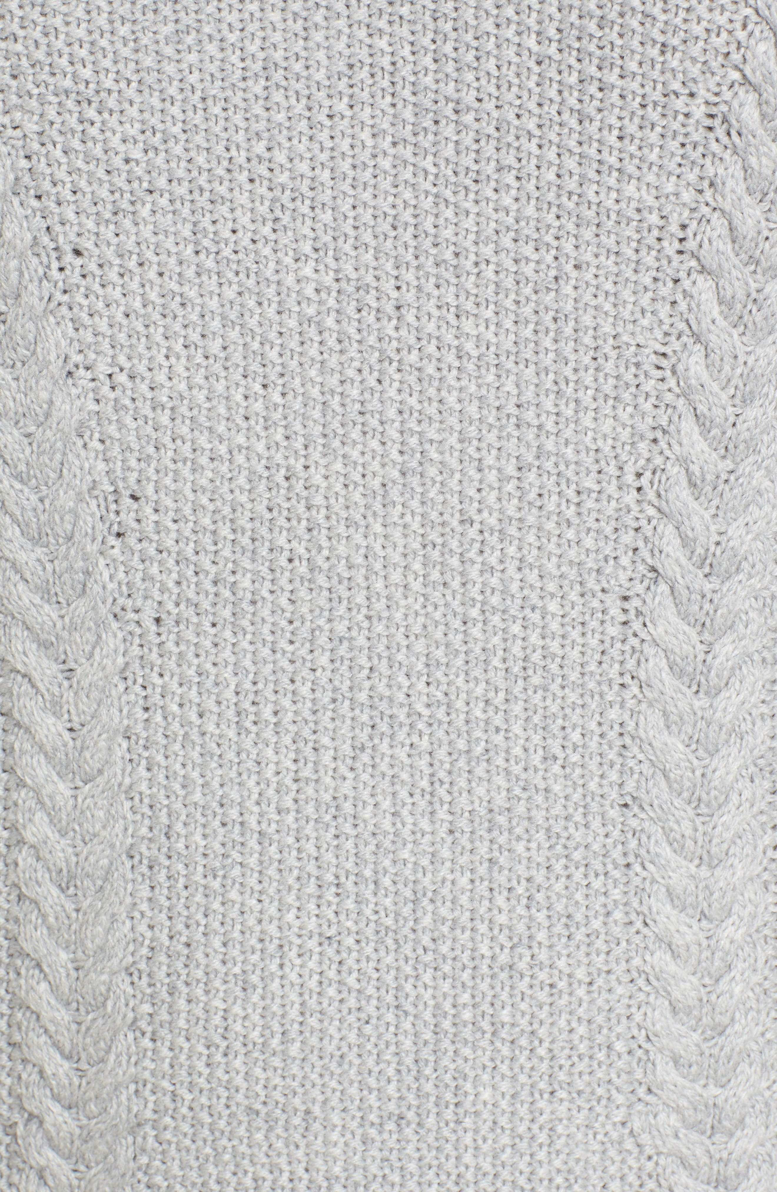 Cable Knit Sweater Dress,                             Alternate thumbnail 10, color,