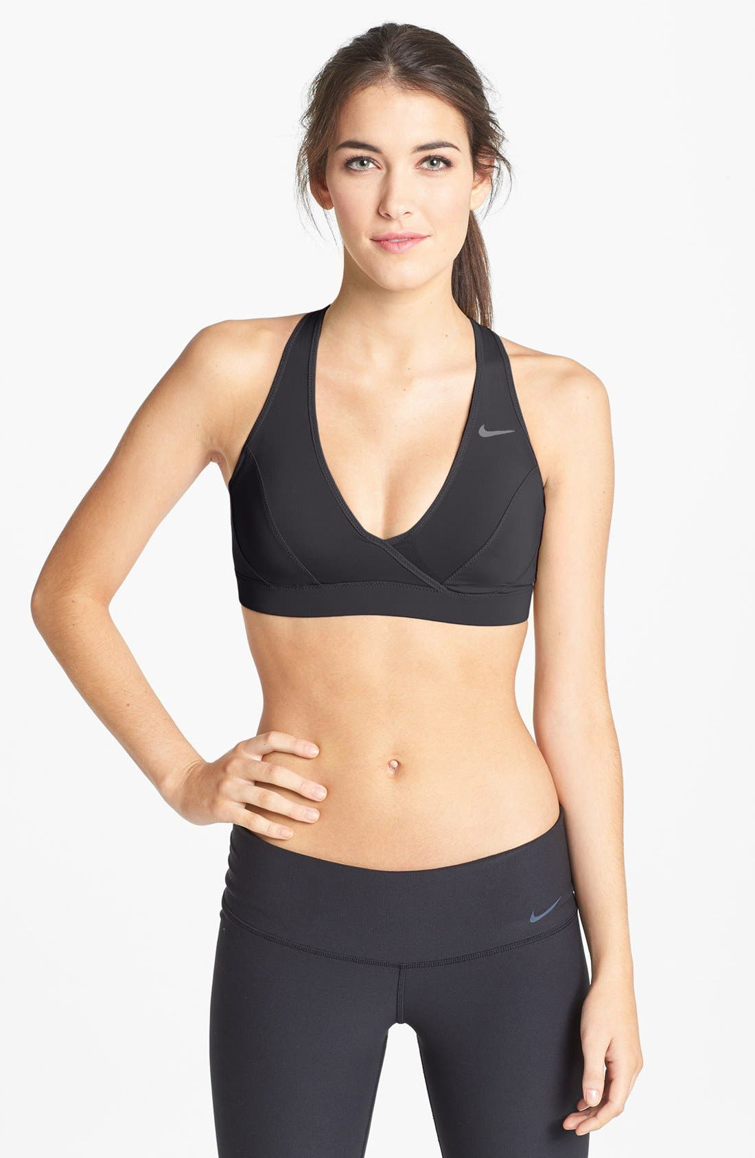 'Define' Sports Bra,                             Main thumbnail 1, color,                             010
