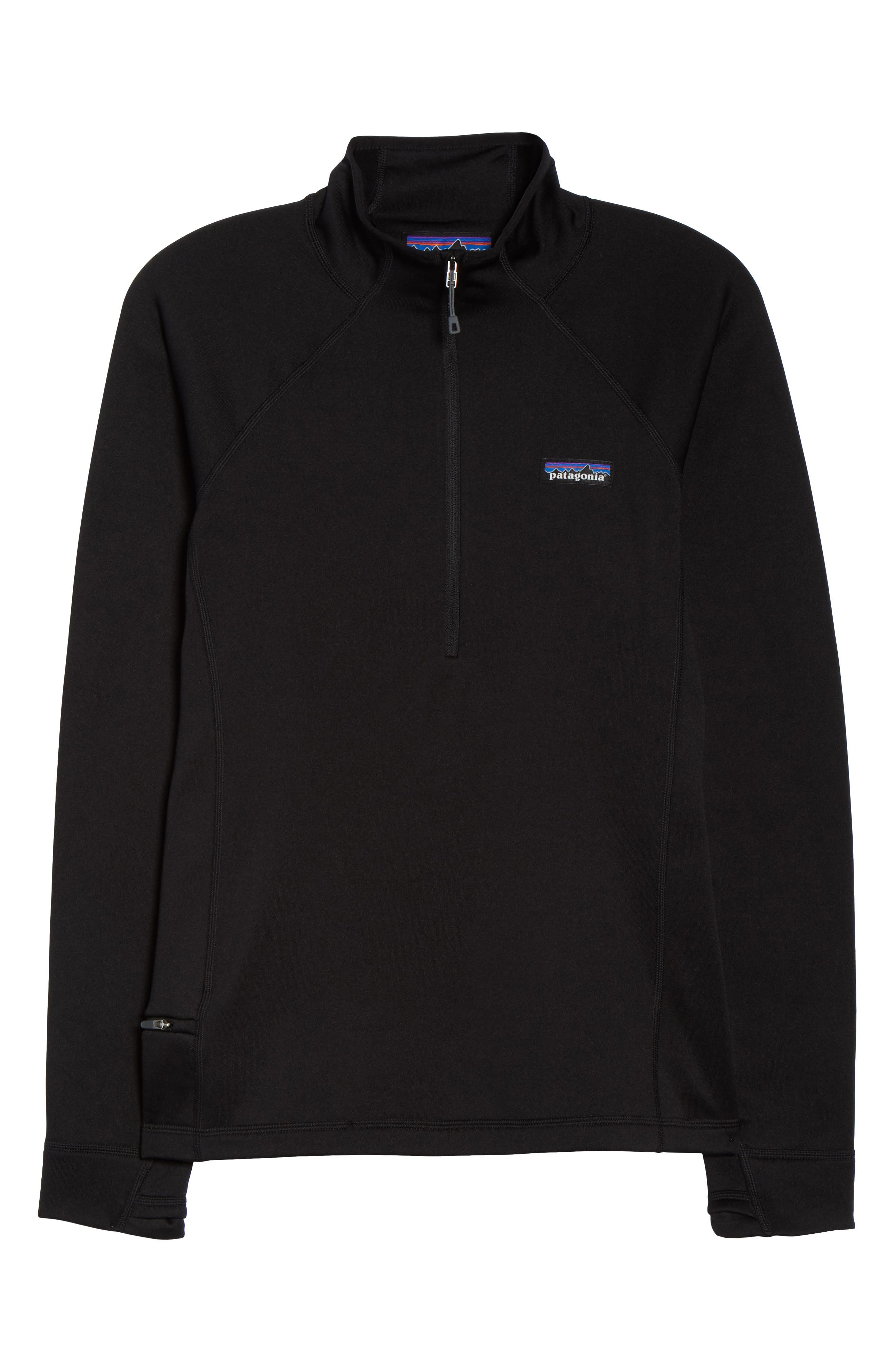 Crosstrek Quarter Zip Jacket,                             Alternate thumbnail 7, color,                             001