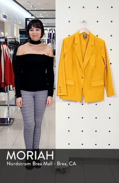 Lace-Up Back Blazer, sales video thumbnail