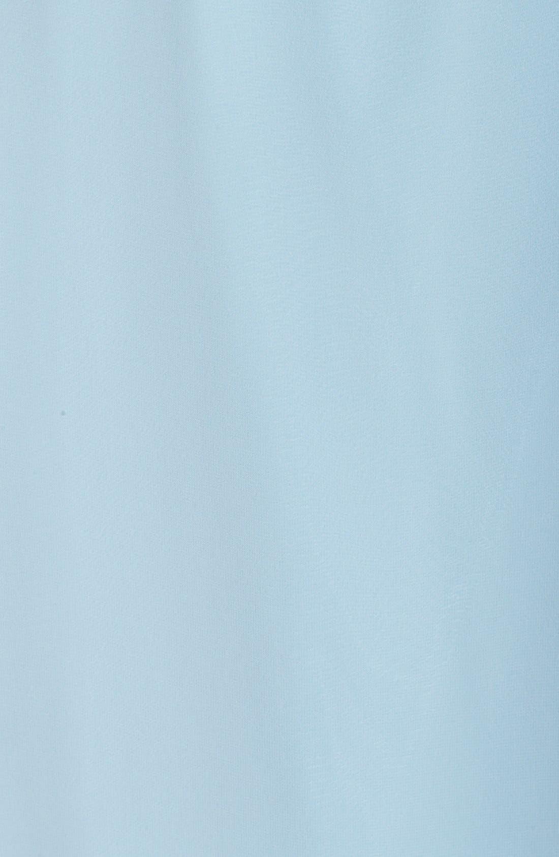 Aurele Cap Sleeve Chiffon Wrap Gown,                             Alternate thumbnail 5, color,