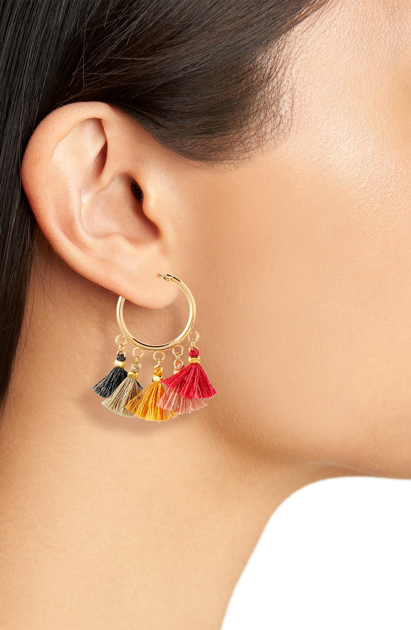 Sashi Lilu Hoop Earrings,                             Alternate thumbnail 2, color,                             710