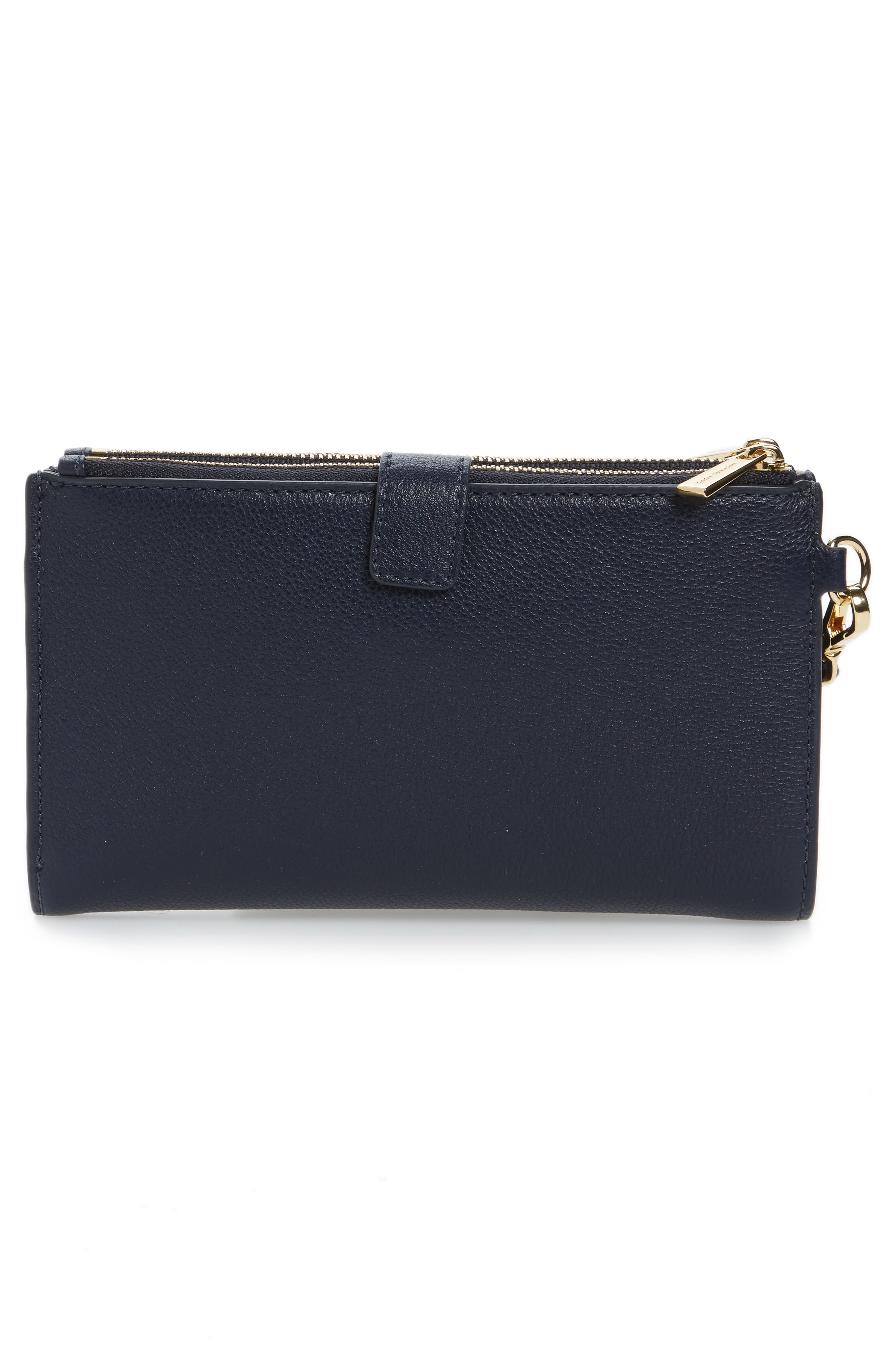 Adele Leather Wristlet,                             Alternate thumbnail 29, color,