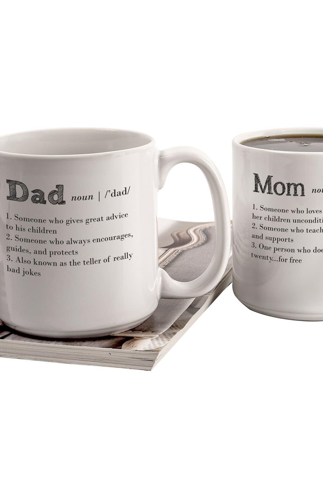 'Mom & Dad' Coffee Mugs,                             Alternate thumbnail 3, color,