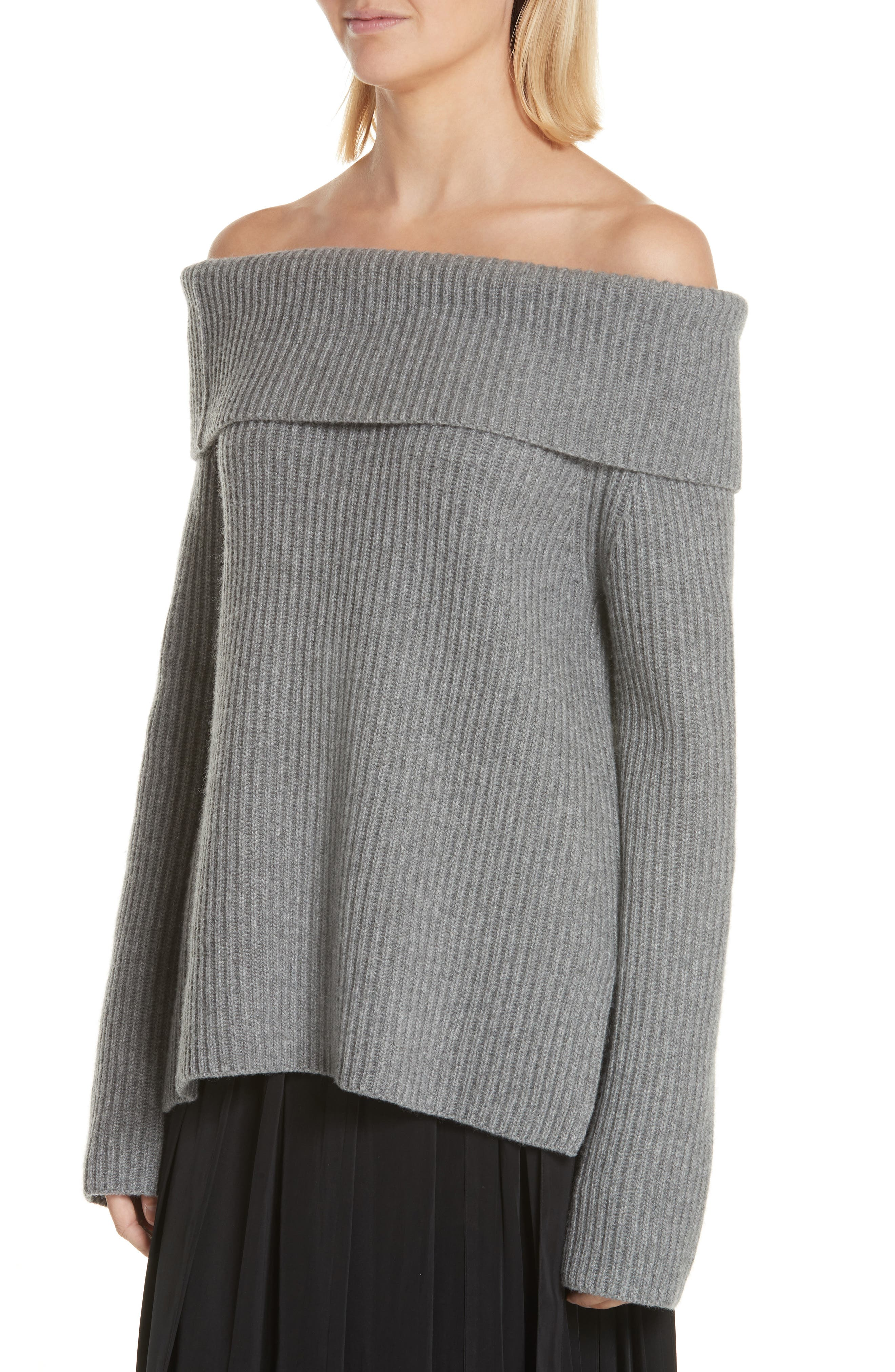 ROBERT RODRIGUEZ,                             Off the Shoulder Sweater,                             Alternate thumbnail 4, color,                             020