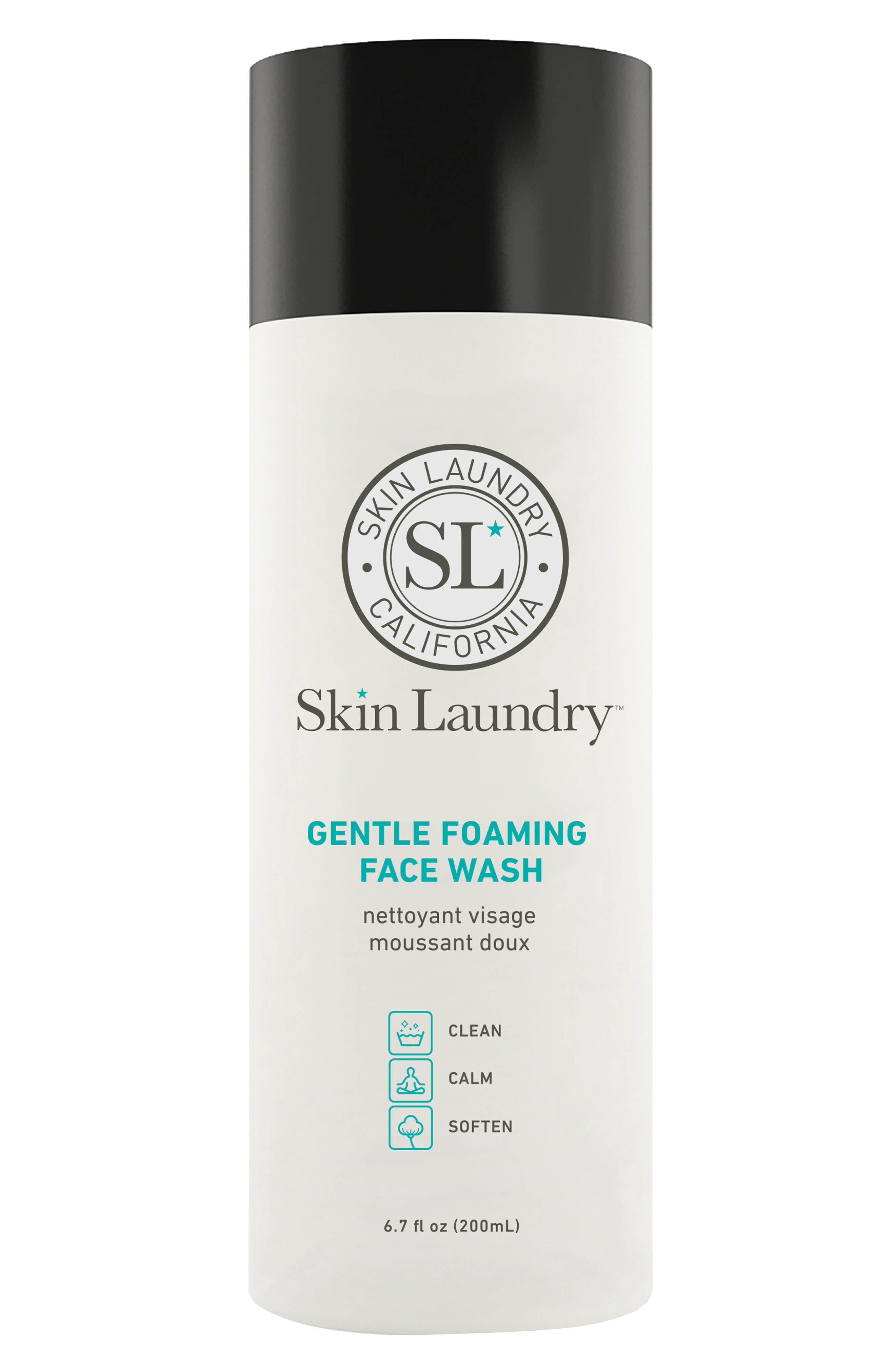 Gentle Foaming Face Wash,                             Main thumbnail 1, color,                             NO COLOR