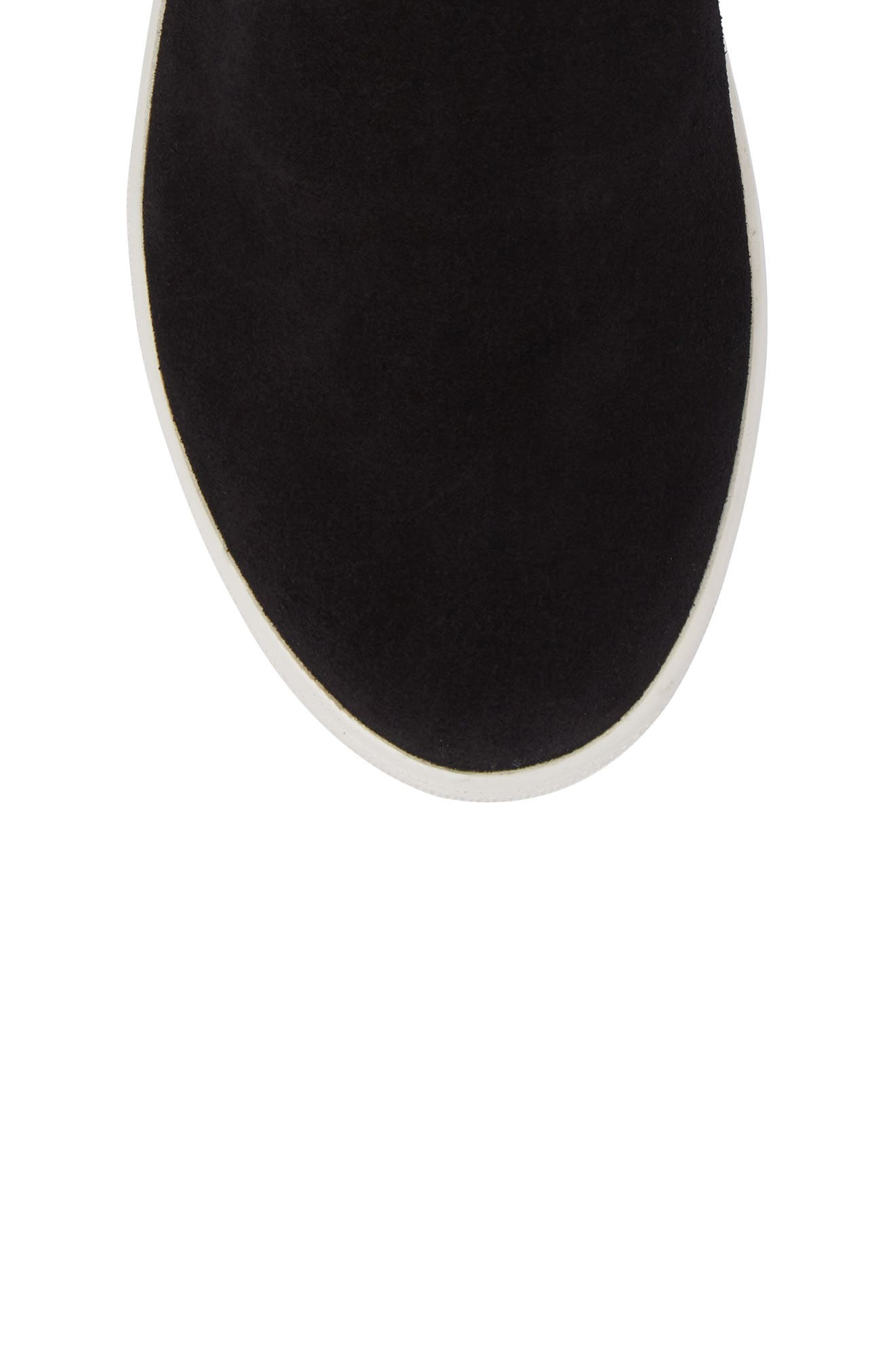 Vera Genuine Shearling Boot,                             Alternate thumbnail 5, color,                             BLACK