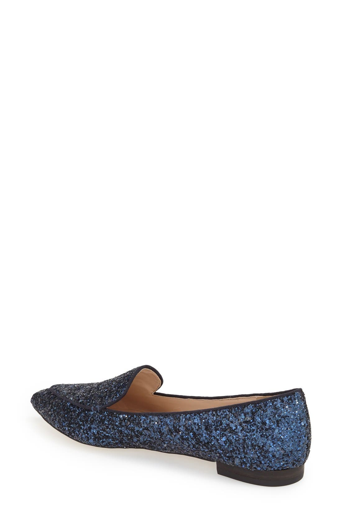 'Cammila' Pointy Toe Loafer,                             Alternate thumbnail 21, color,
