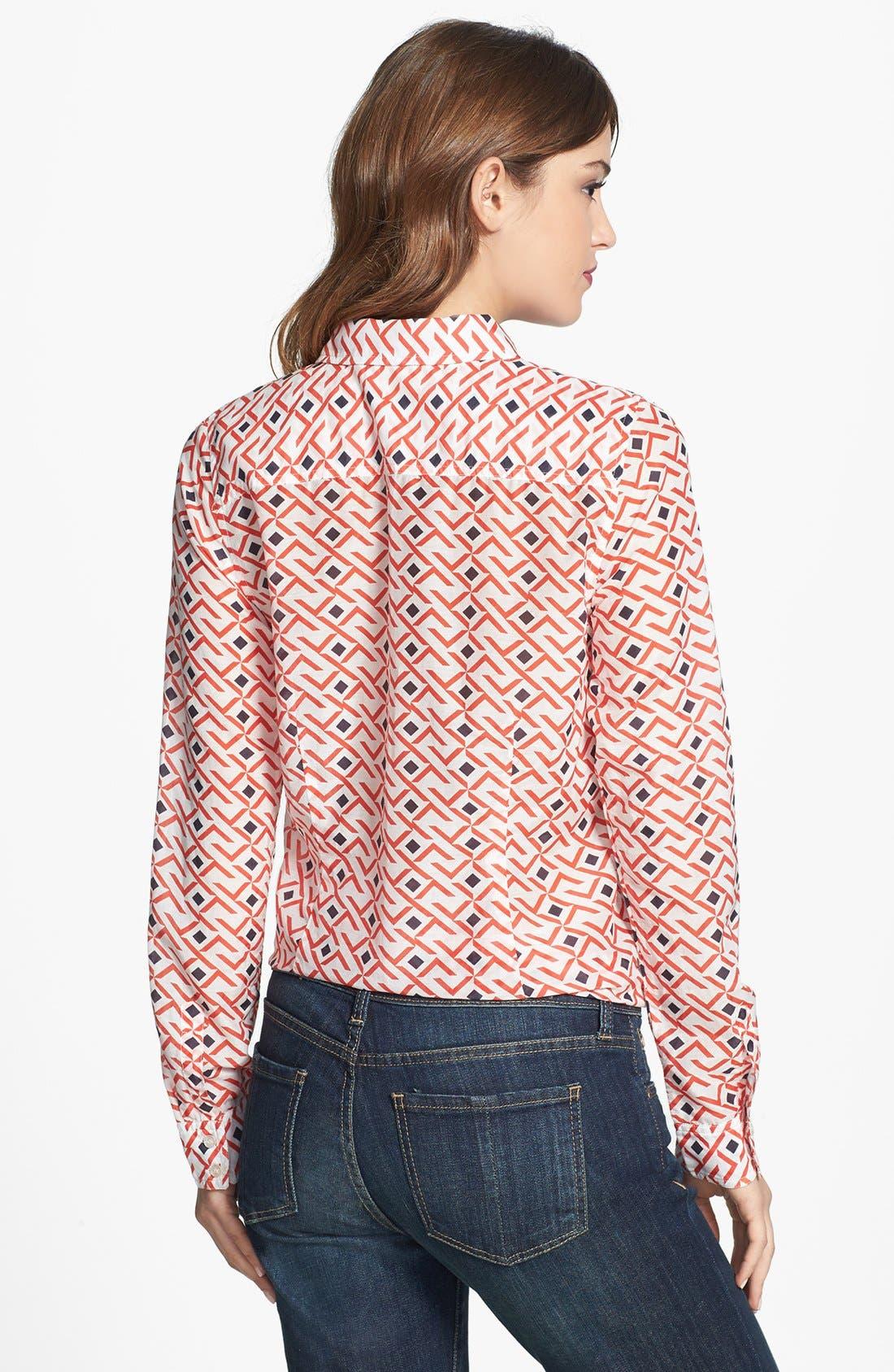 Cotton & Silk Shirt,                             Alternate thumbnail 87, color,