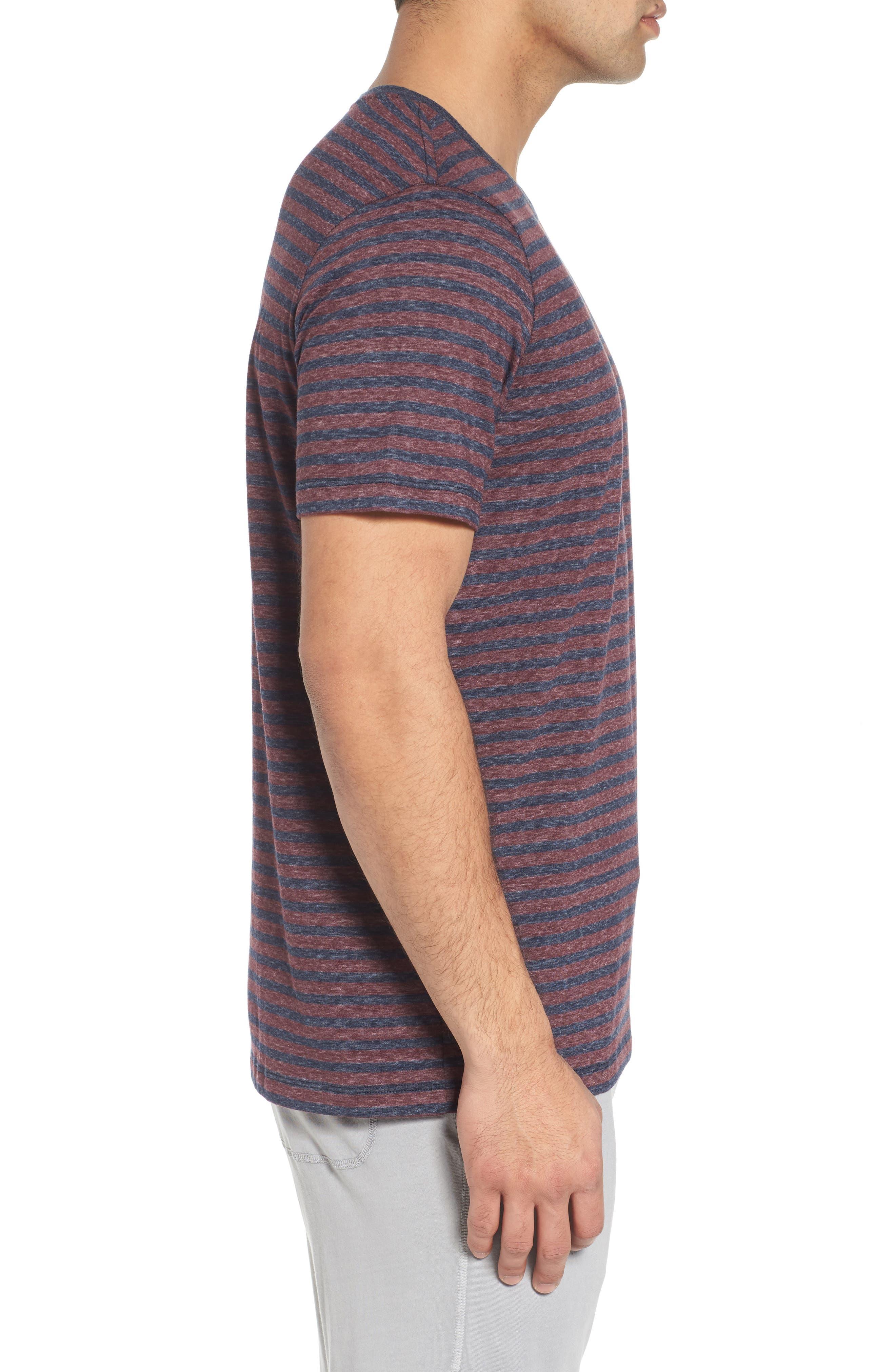 Crewneck Recycled Cotton Blend T-Shirt,                             Alternate thumbnail 3, color,                             482