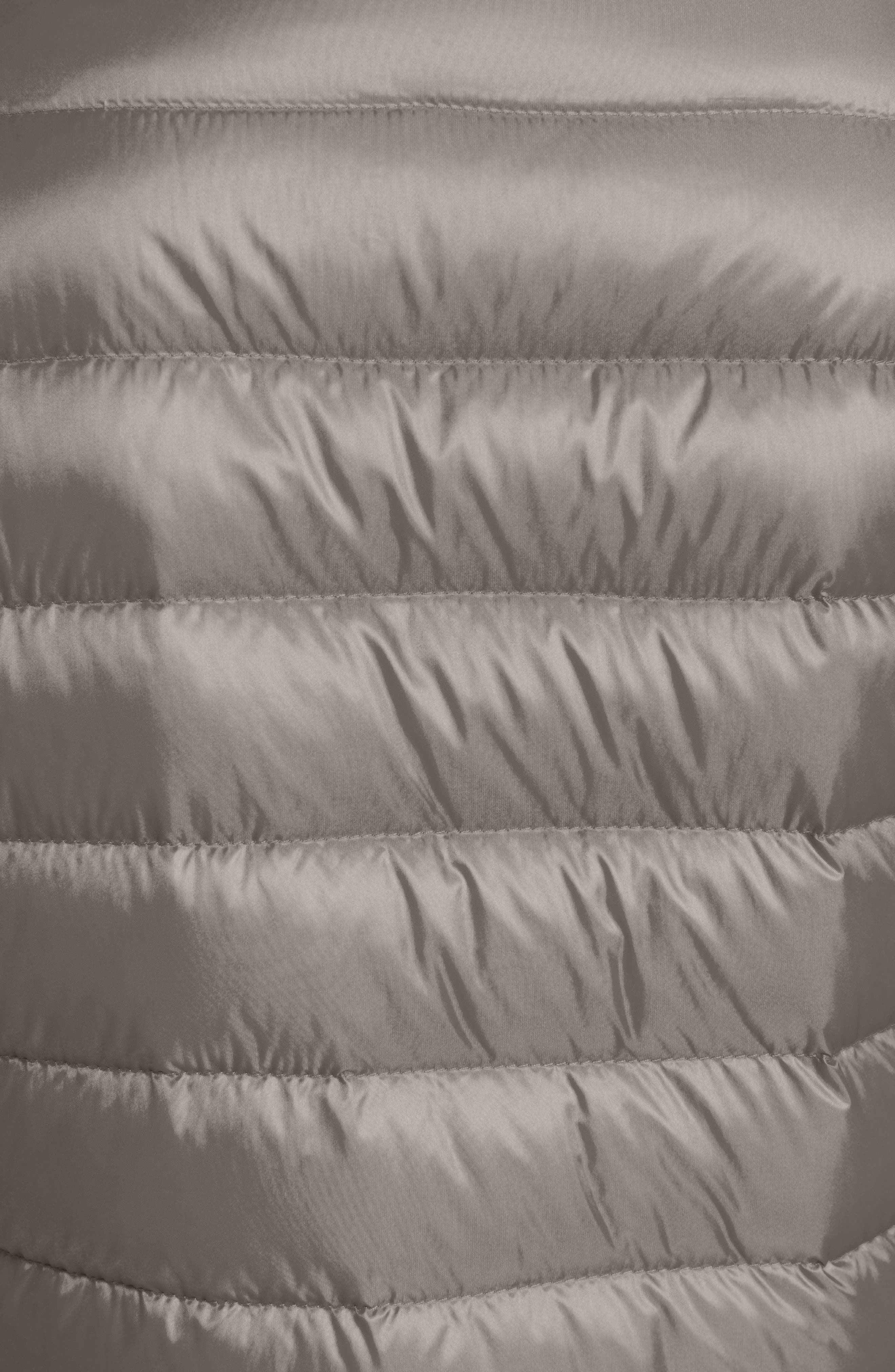 'Lans' Water Resistant Short Down Jacket,                             Alternate thumbnail 6, color,                             GREY