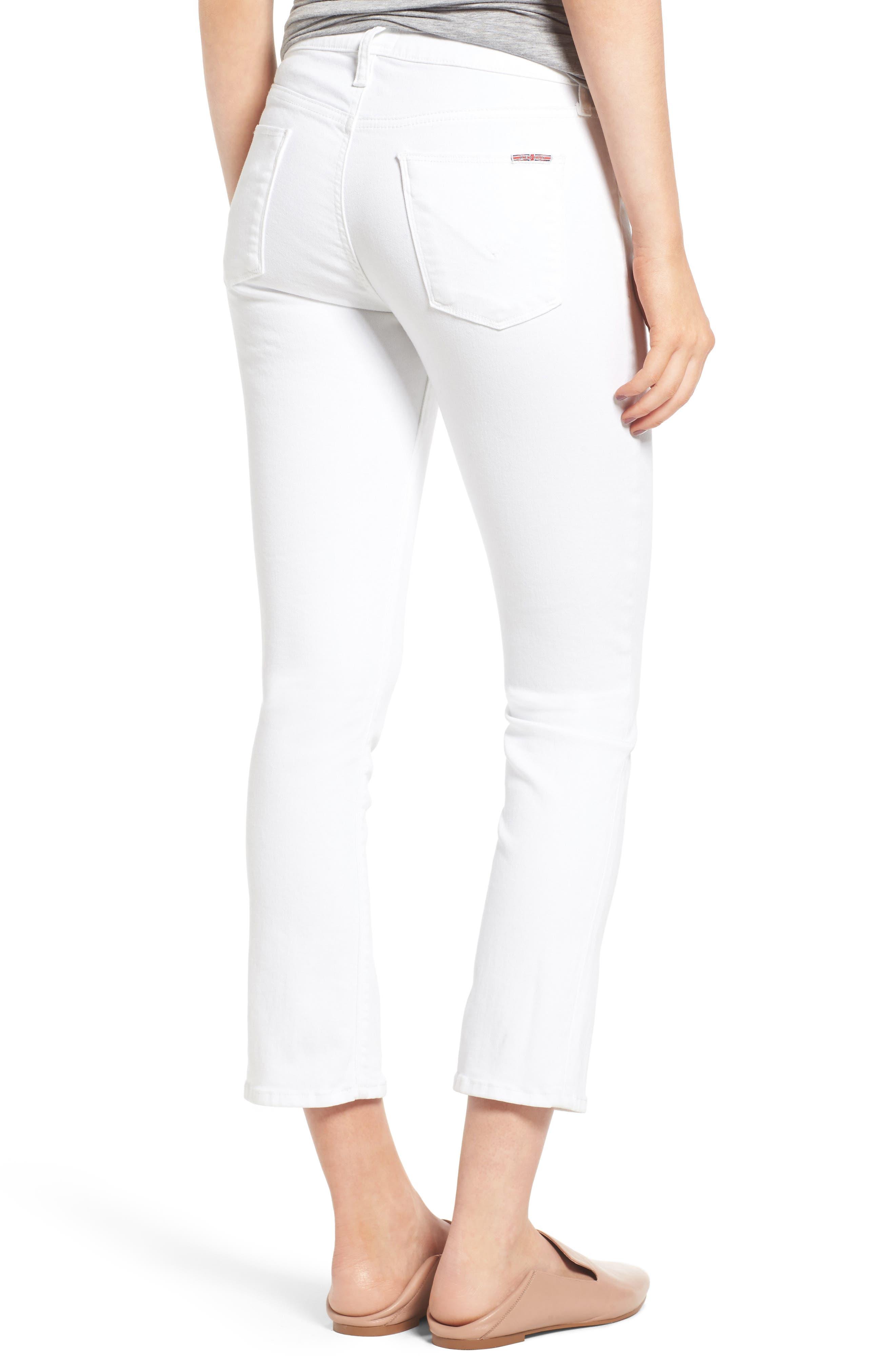 Harper High Rise Crop Jeans,                             Alternate thumbnail 4, color,