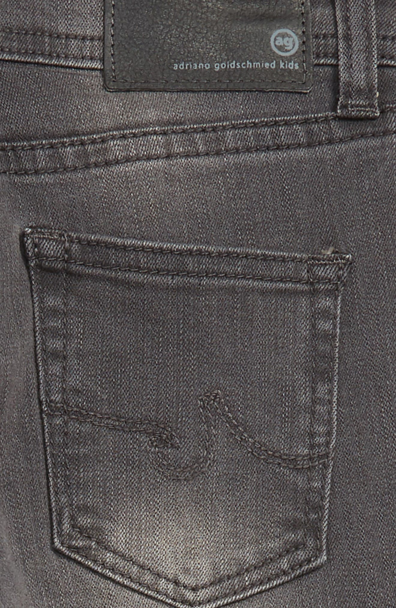 adriano goldschmied kids The Kingston Slim Jeans,                             Alternate thumbnail 3, color,                             FOG GREY