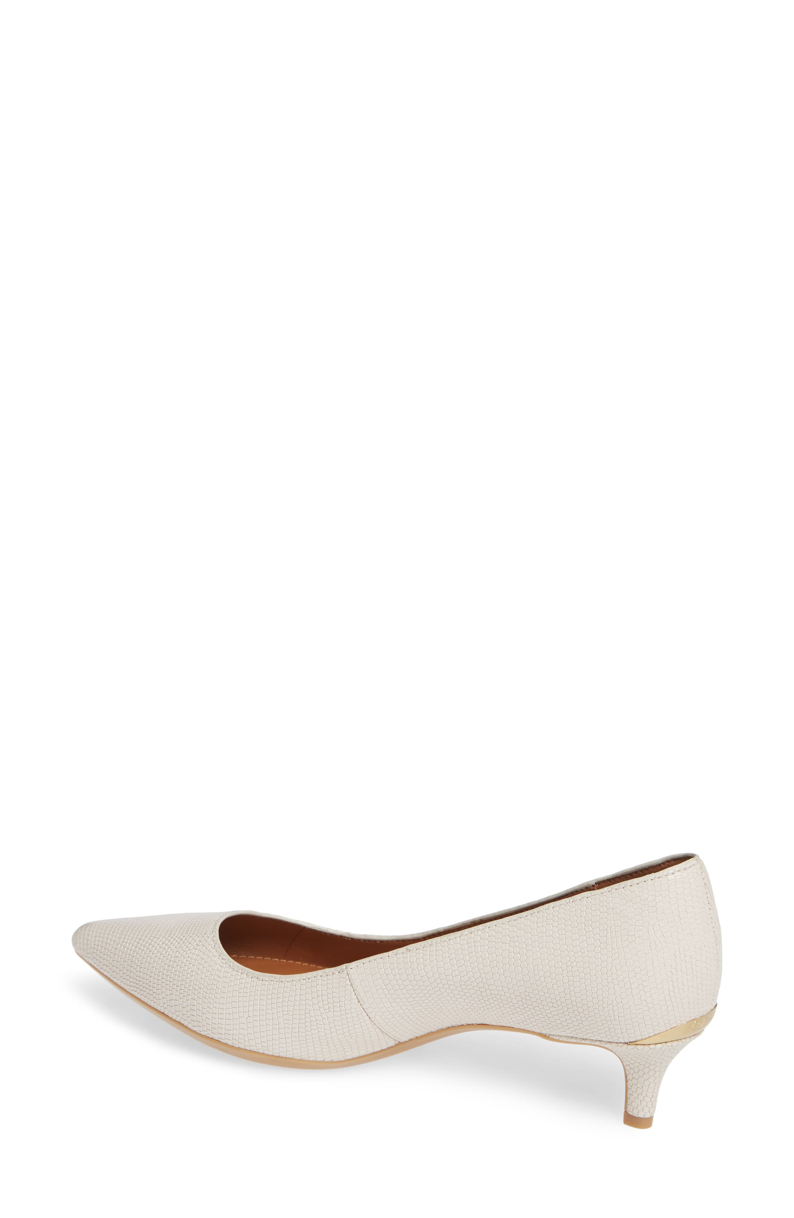 Gabrianna Pump,                             Alternate thumbnail 2, color,                             SOFT WHITE LEATHER