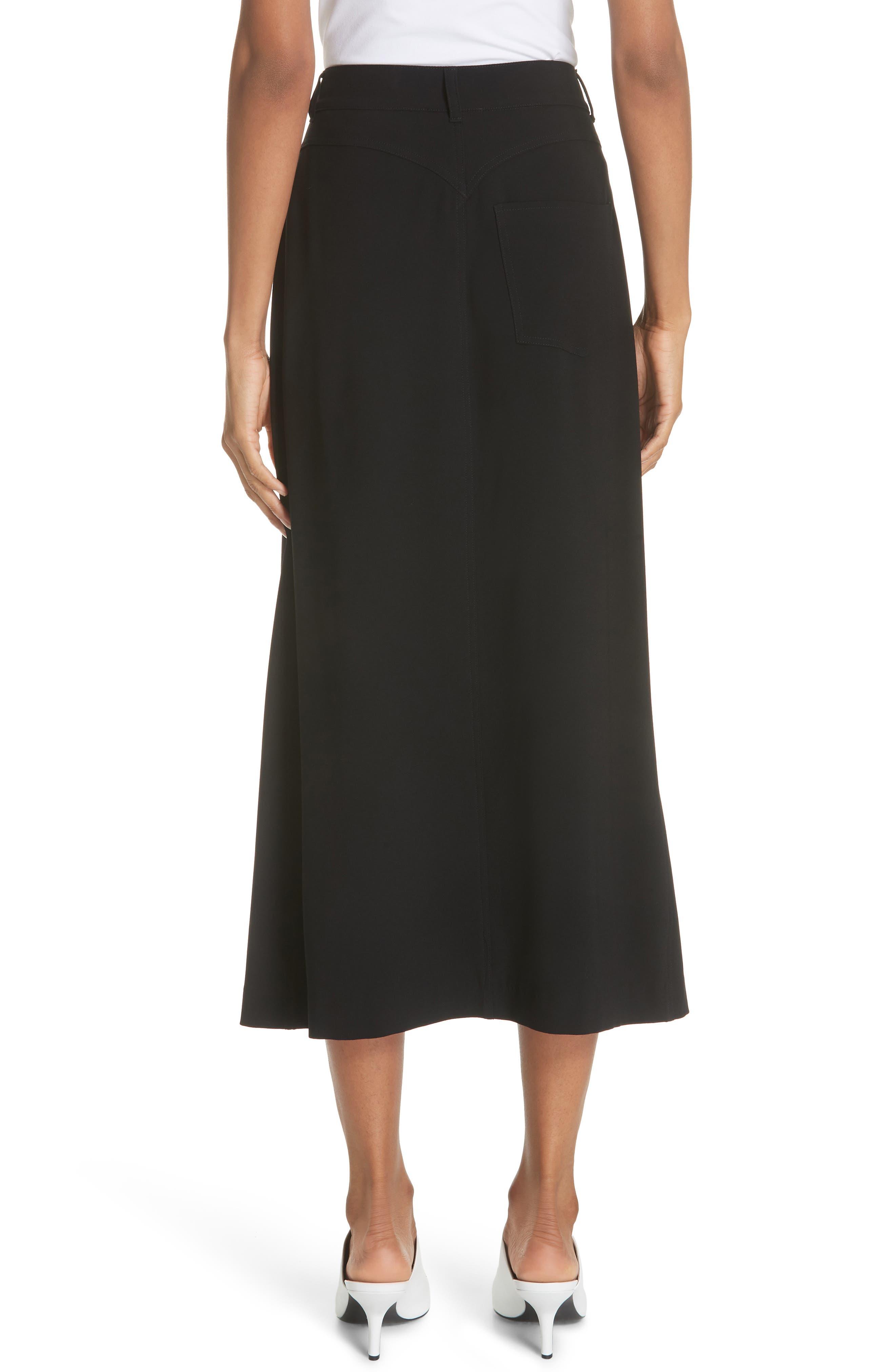 Meida Midi Skirt,                             Alternate thumbnail 2, color,                             003