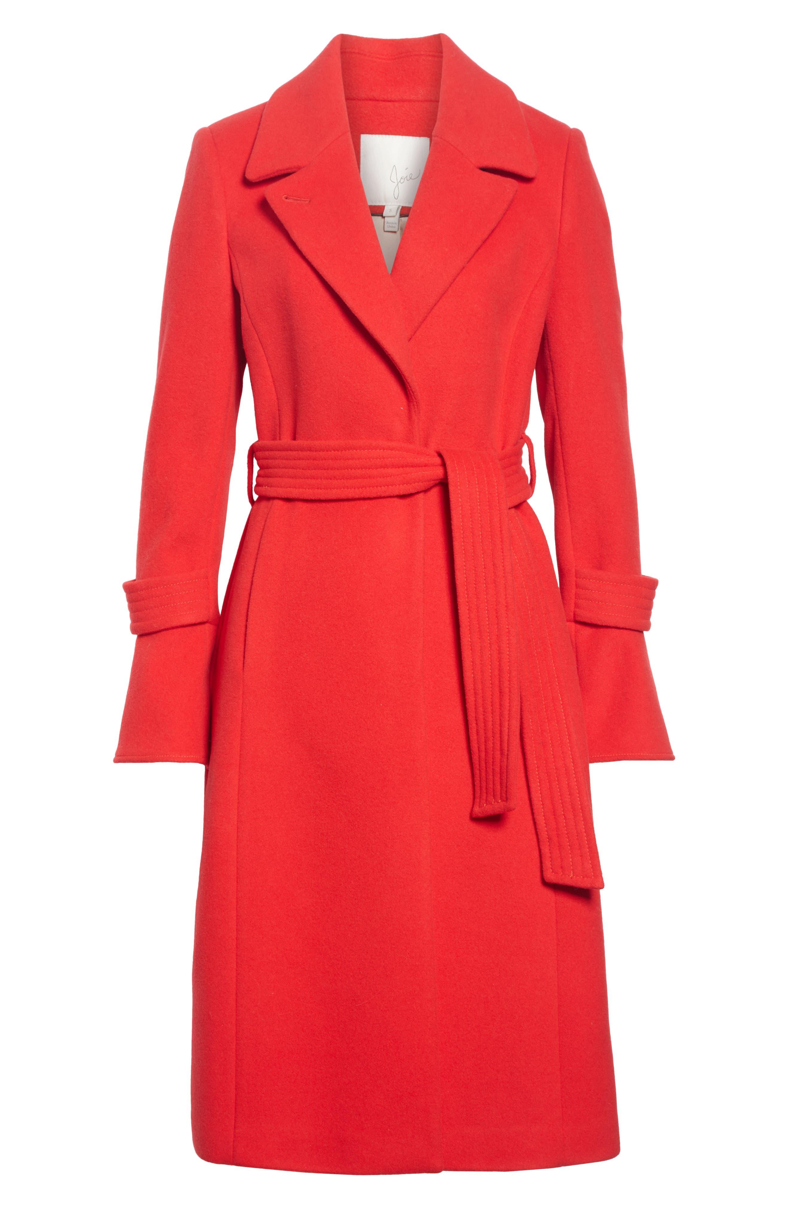 Hersilia Wool Blend Coat,                             Alternate thumbnail 5, color,                             600