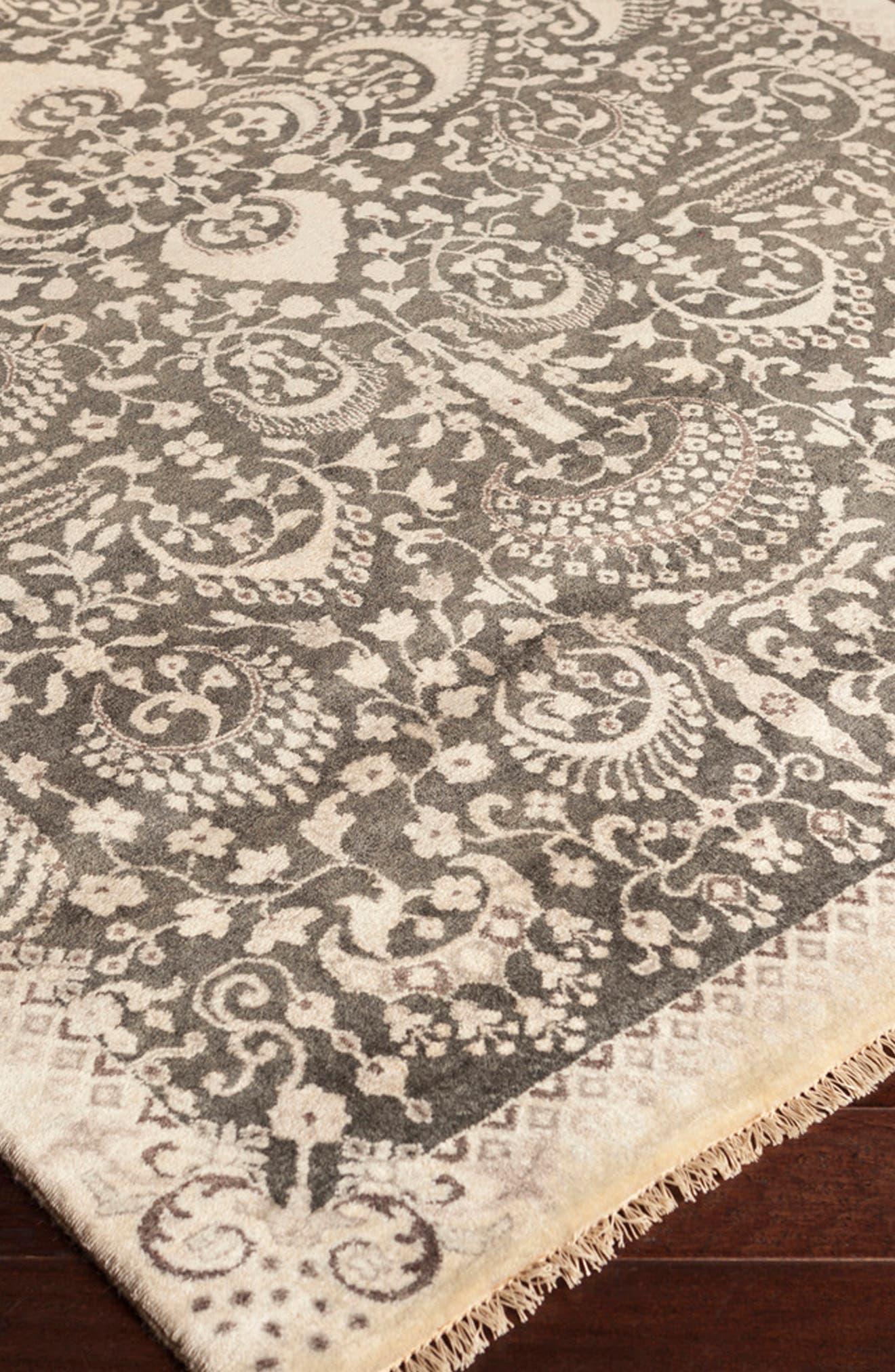 'Empress' Wool Rug,                             Alternate thumbnail 3, color,                             250
