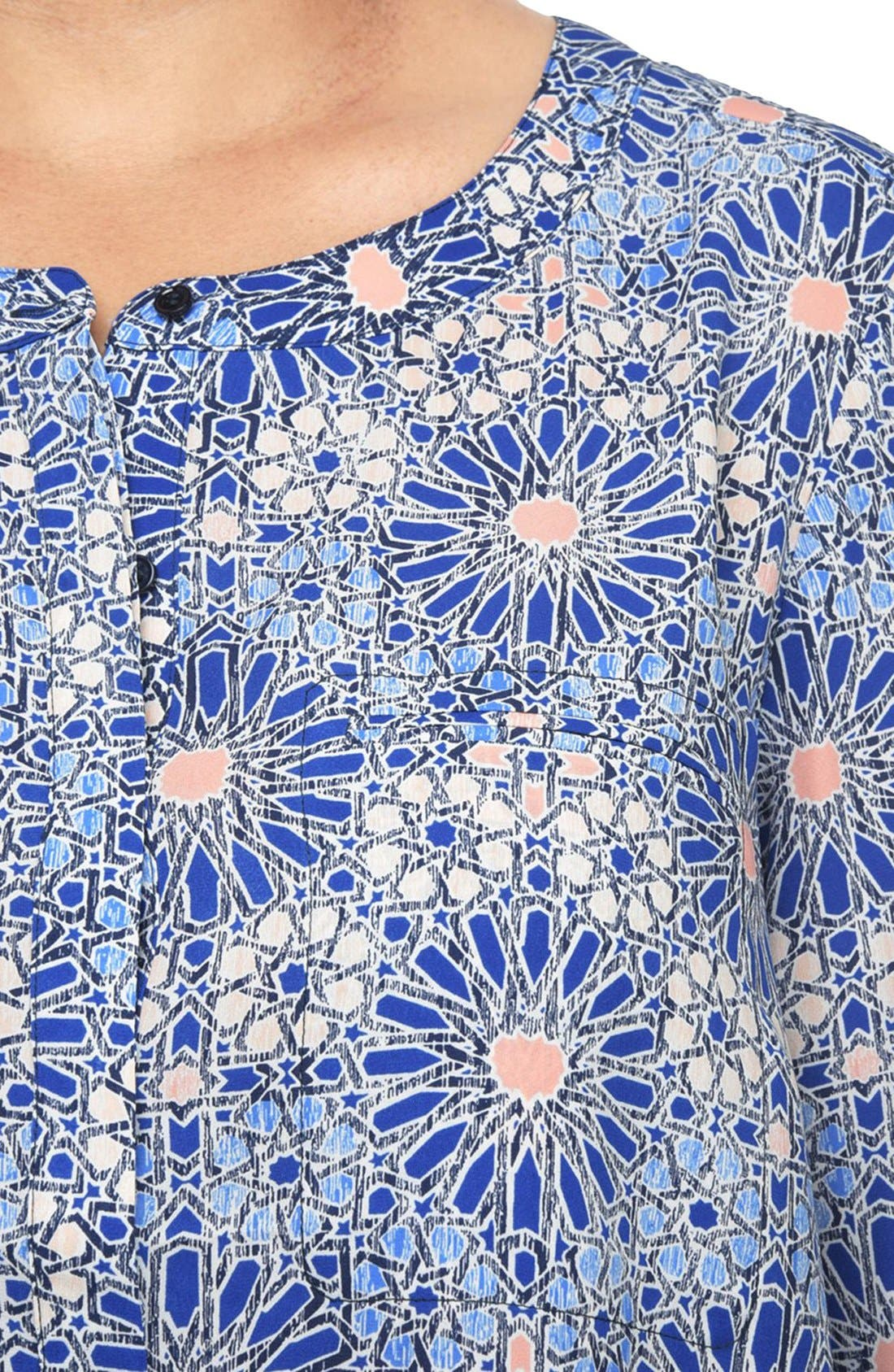 Henley Top,                             Alternate thumbnail 185, color,