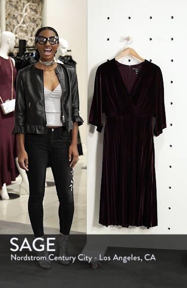 Kimono Pleated Dress, sales video thumbnail