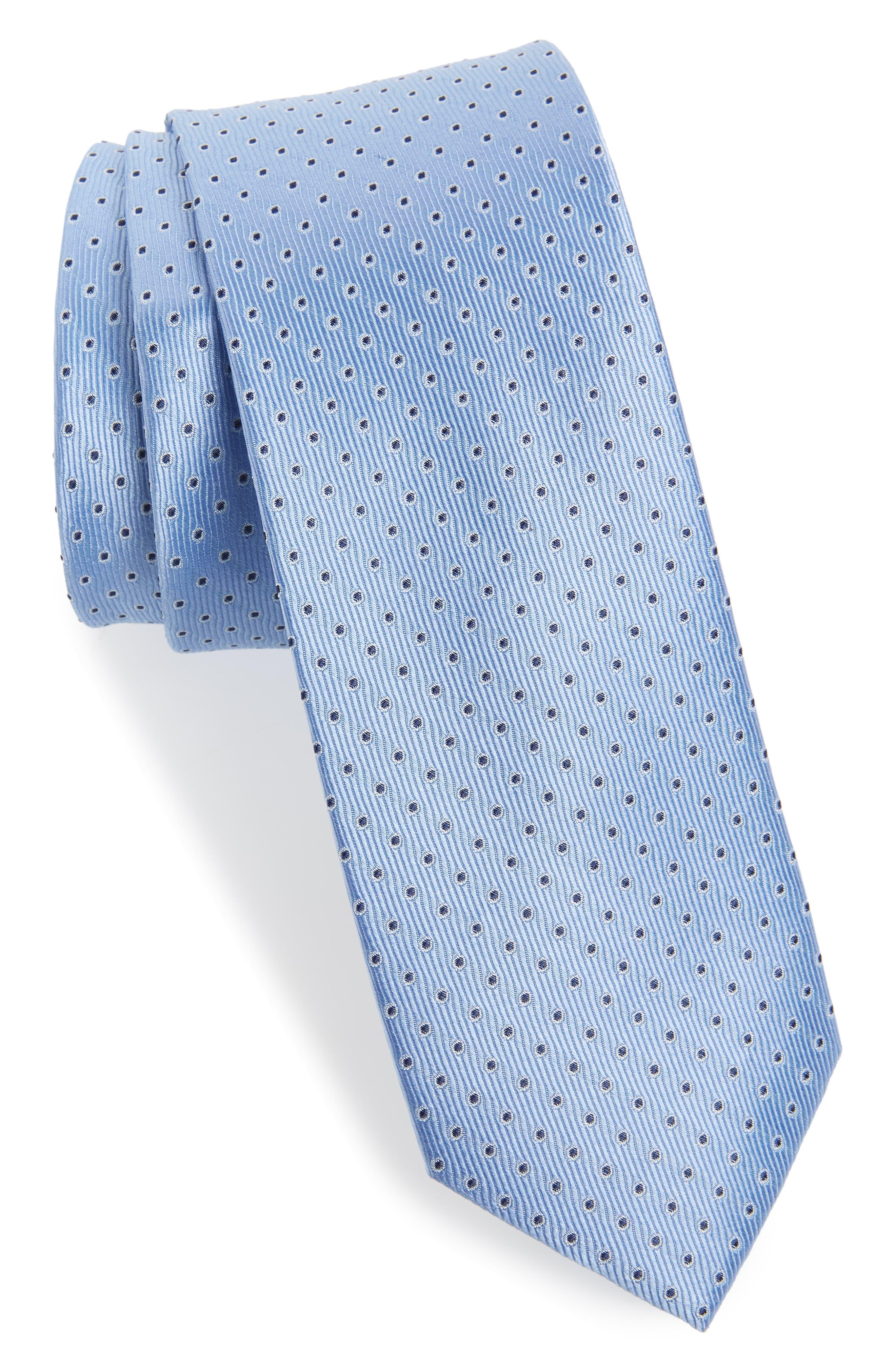 Newport Dot Silk Tie,                             Main thumbnail 3, color,