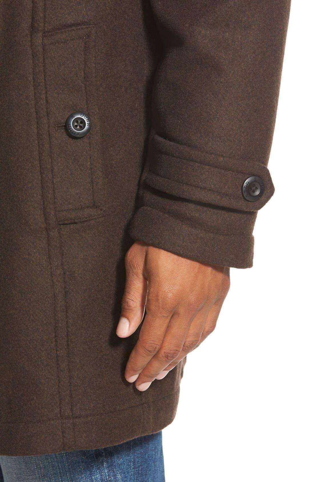 'Westown' 3-in-1 Wool Blend Coat,                             Alternate thumbnail 9, color,