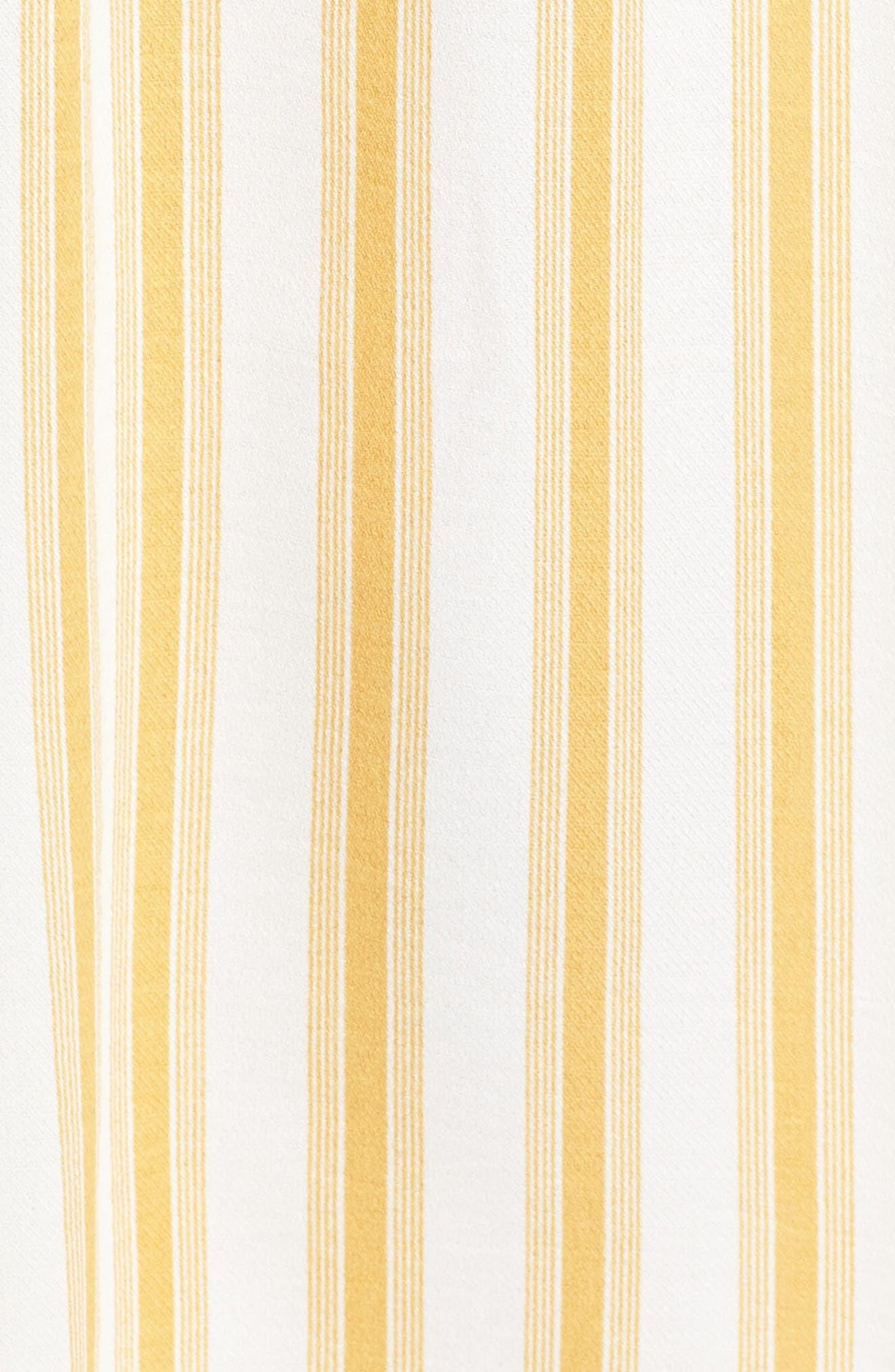 Leena Stripe Midi Dress,                             Alternate thumbnail 5, color,
