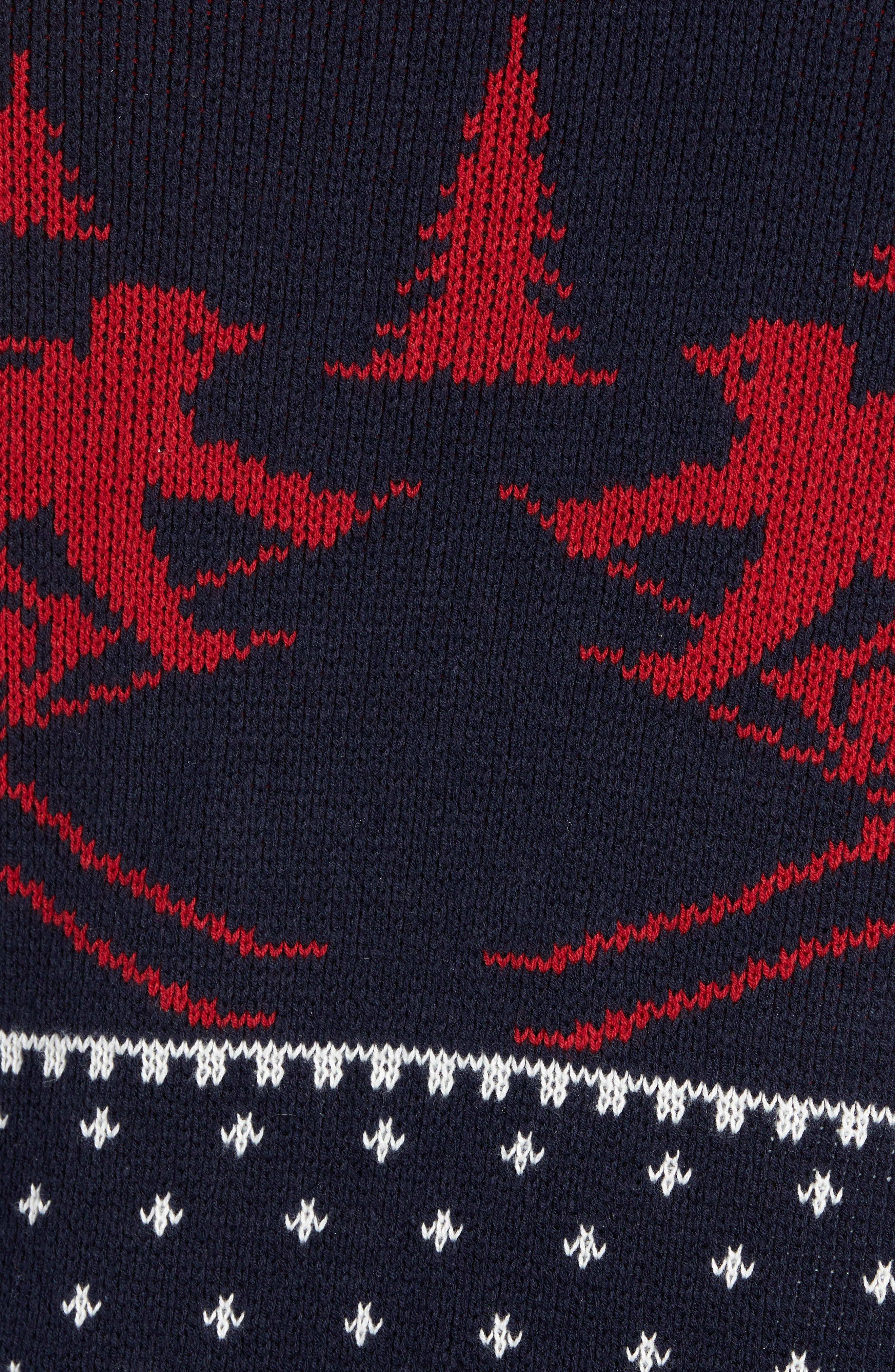 Fair Isle Ski Sweater,                             Alternate thumbnail 5, color,                             410