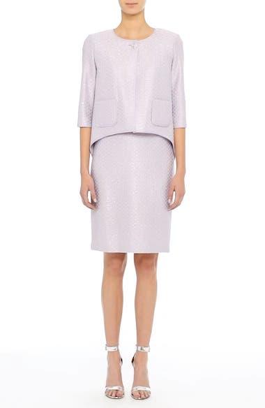 Hansh Sequin Knit Pencil Skirt, video thumbnail