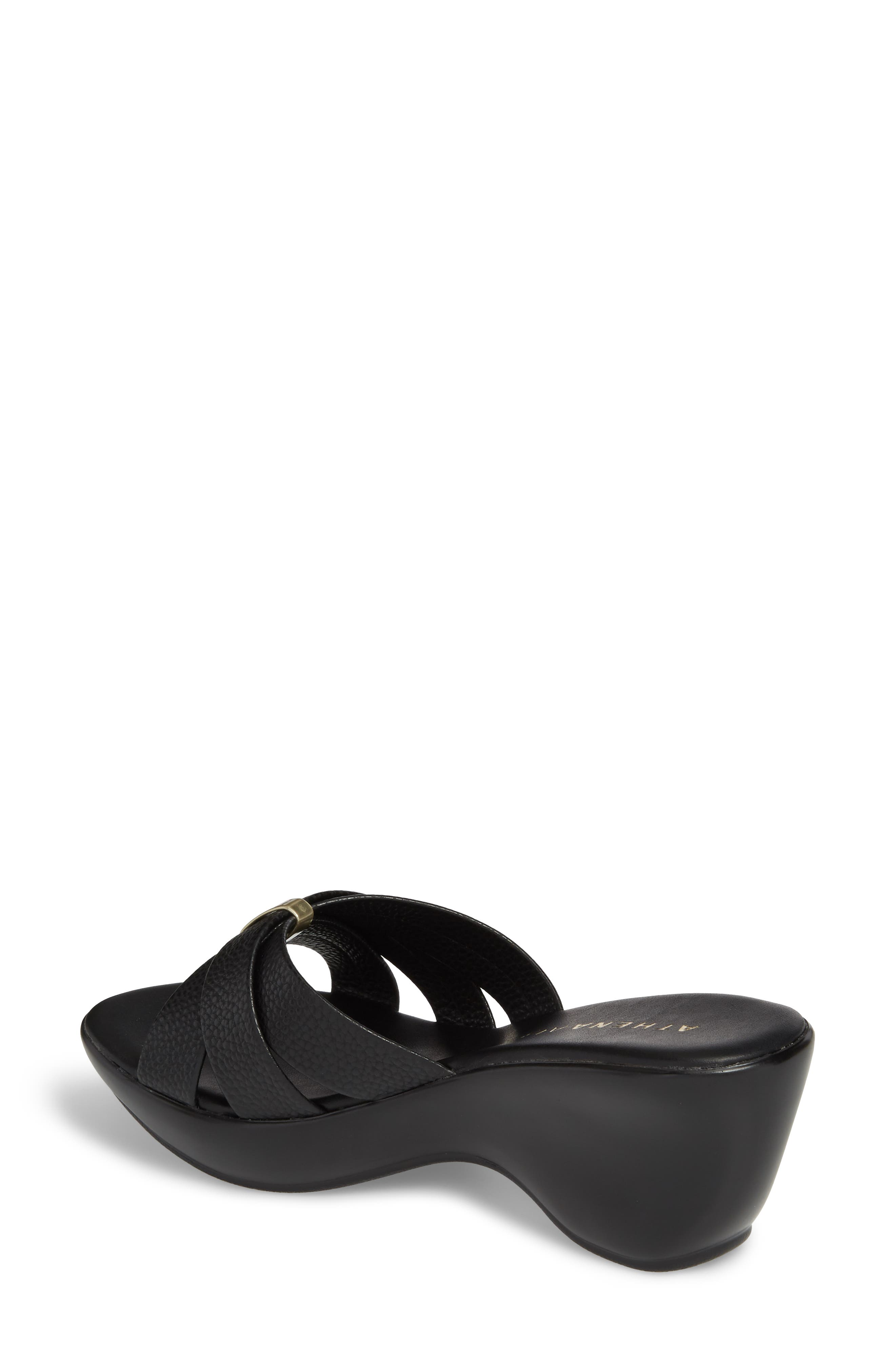 Serra Wedge Slide Sandal,                             Alternate thumbnail 2, color,                             001