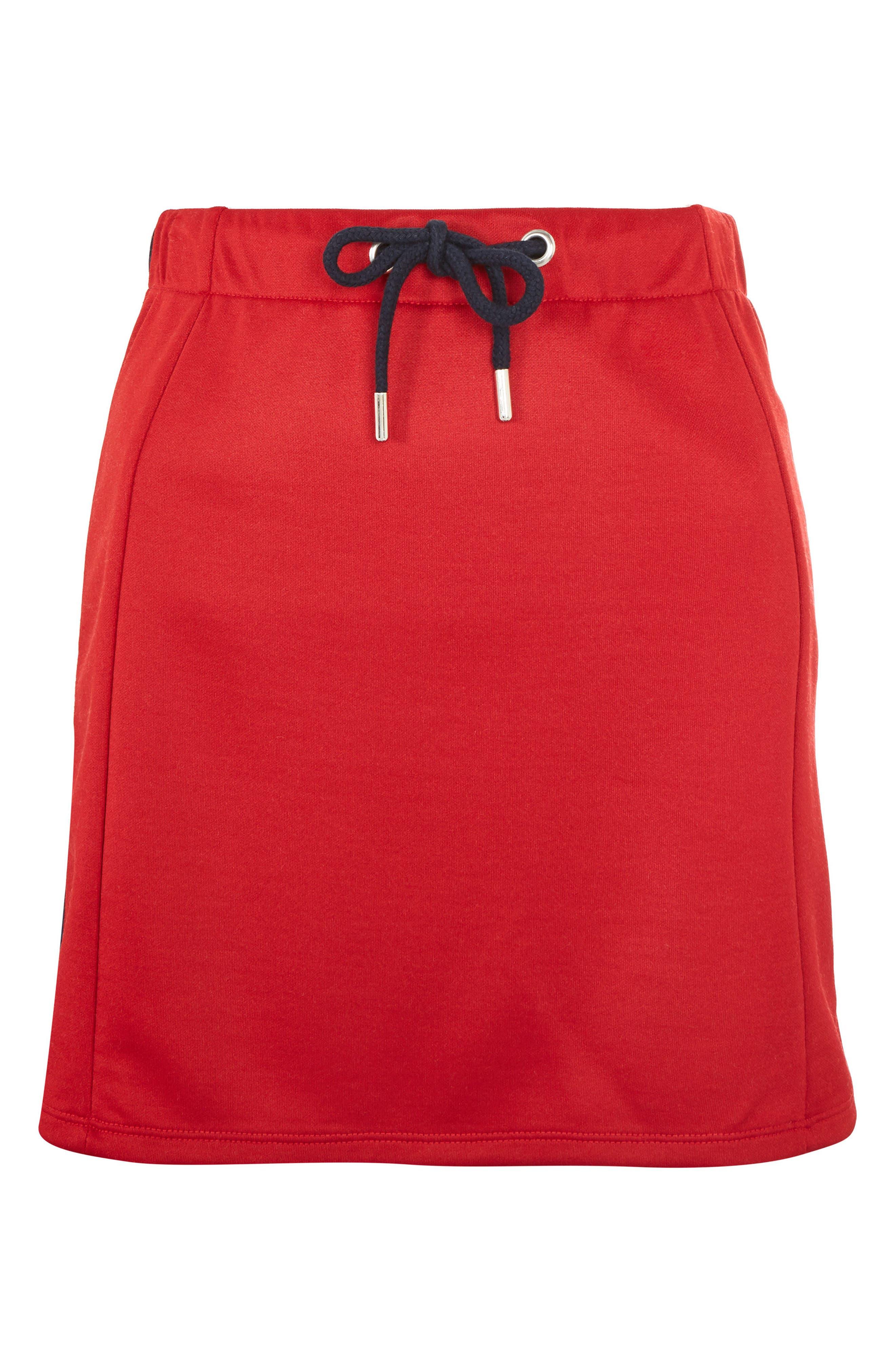 Sporty Popper Miniskirt,                             Alternate thumbnail 3, color,                             600