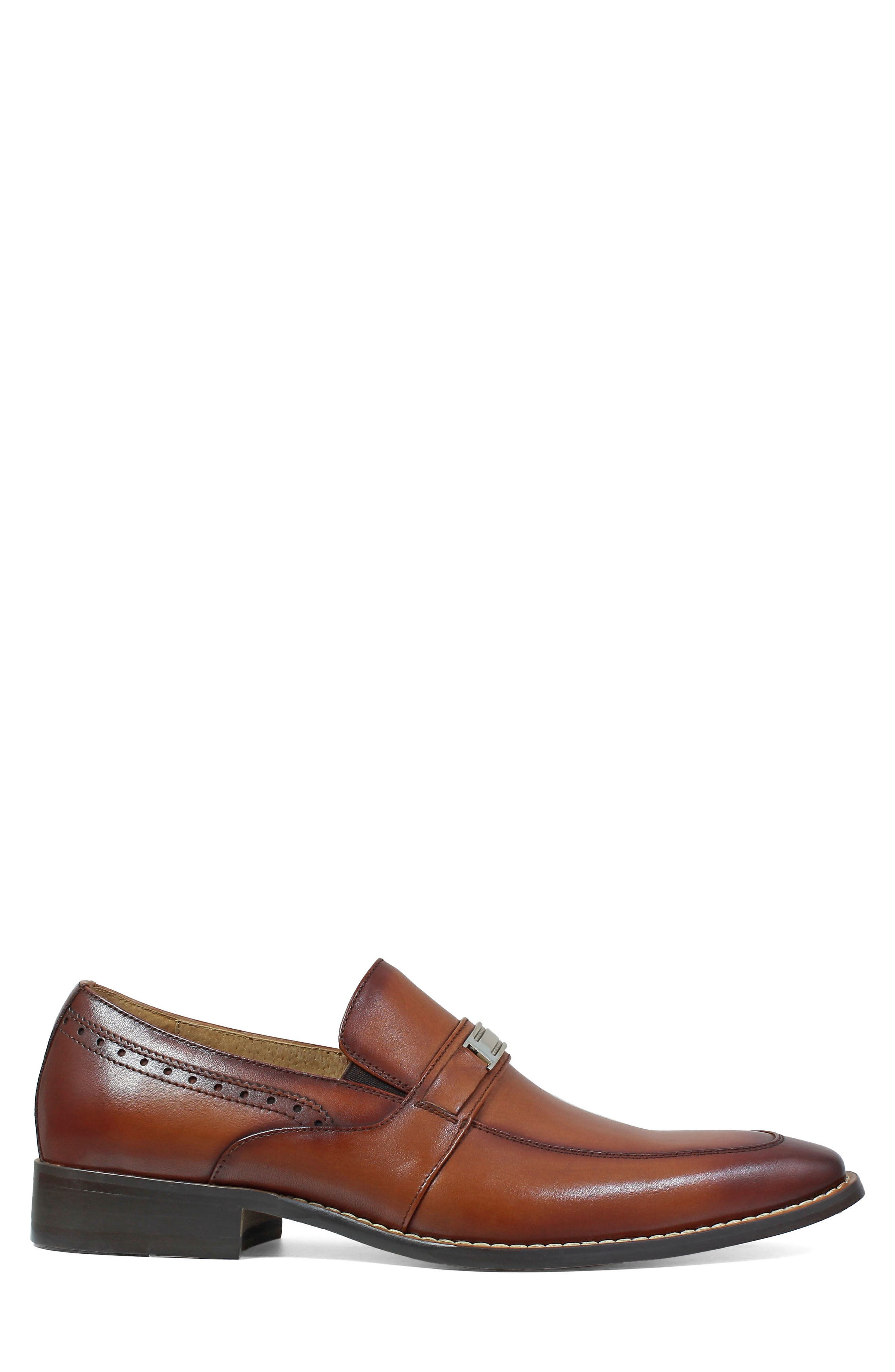 STACY ADAMS,                             Shaw Bit Loafer,                             Alternate thumbnail 3, color,                             201