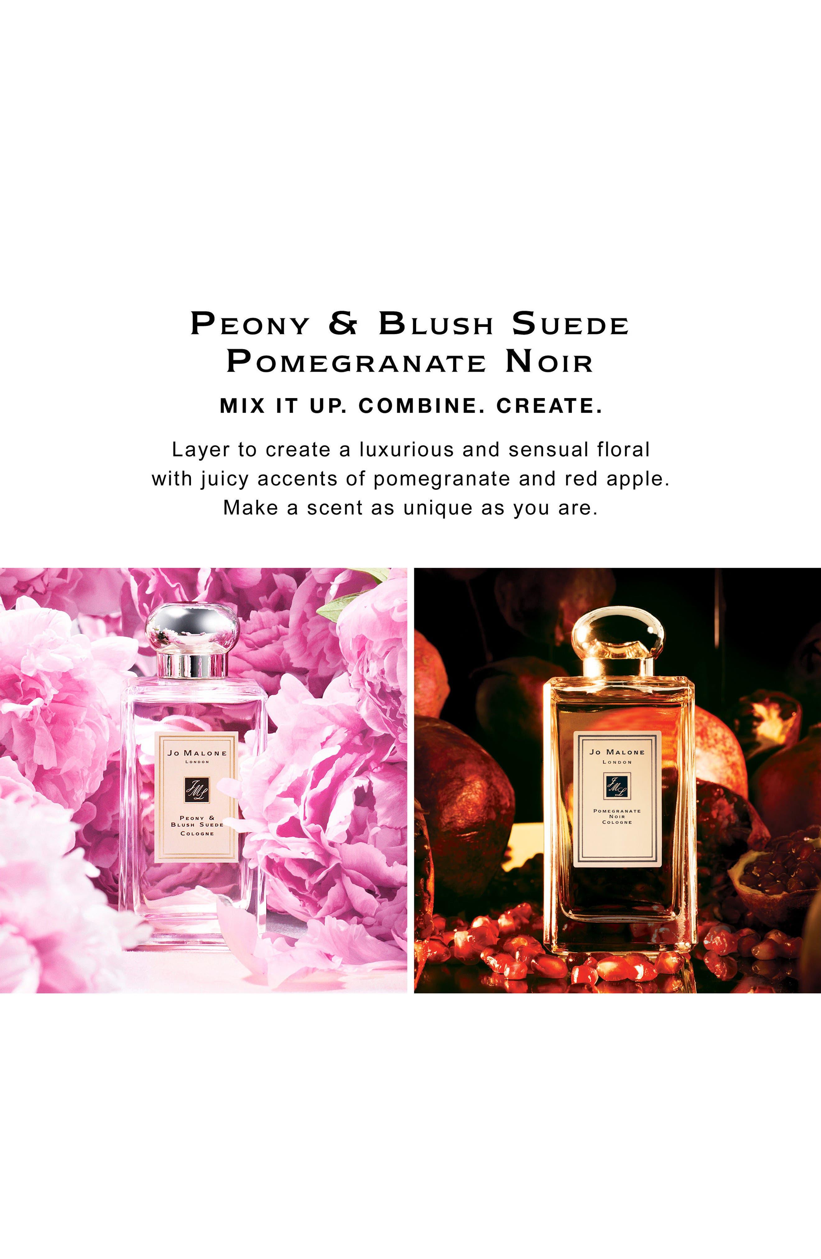 Peony & Blush Suede Cologne,                             Alternate thumbnail 8, color,                             NO COLOR