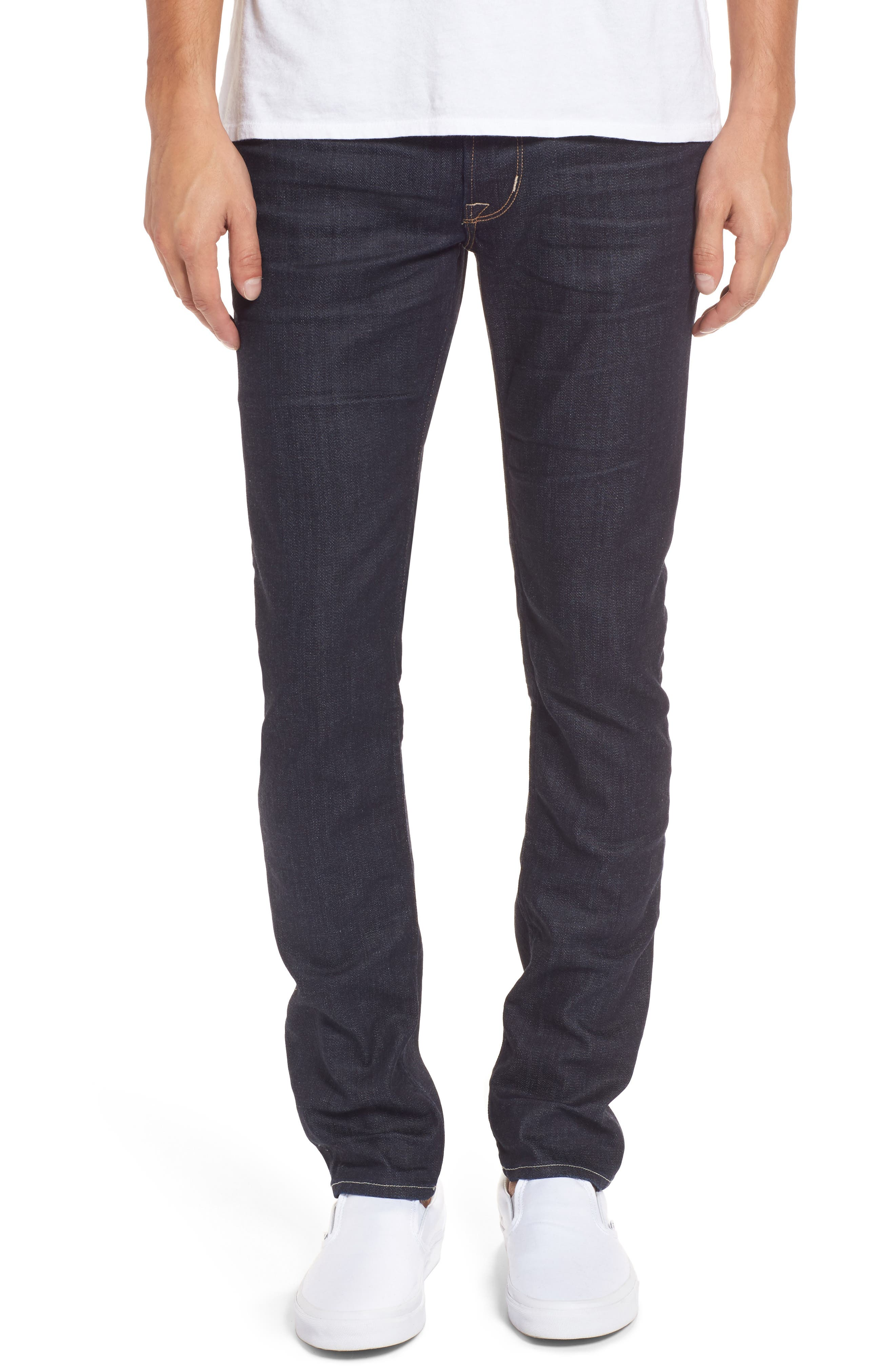 Hudson Axl Skinny Fit Jeans,                         Main,                         color, 420