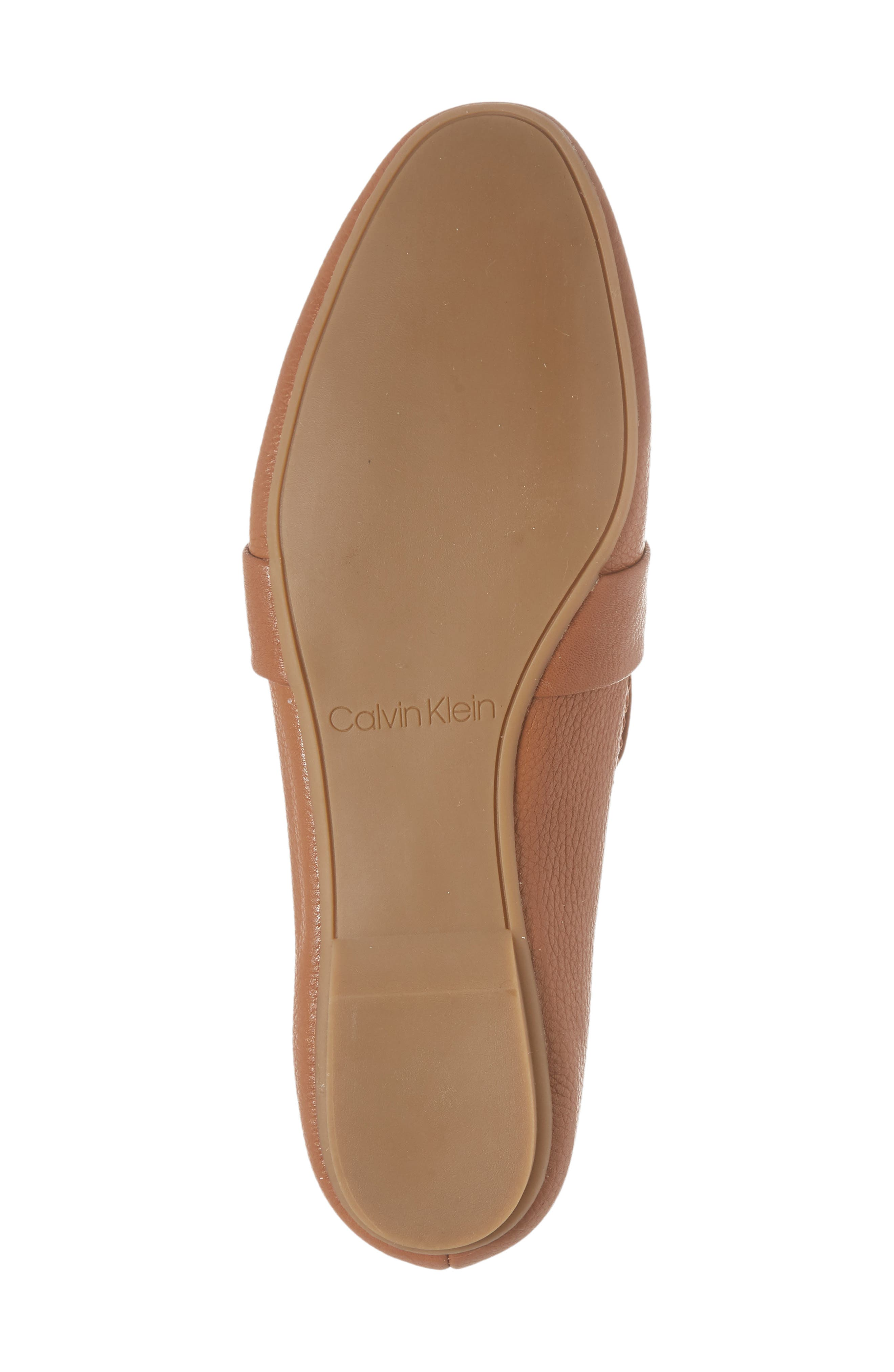 Orianna Loafer,                             Alternate thumbnail 6, color,                             COGNAC LEATHER
