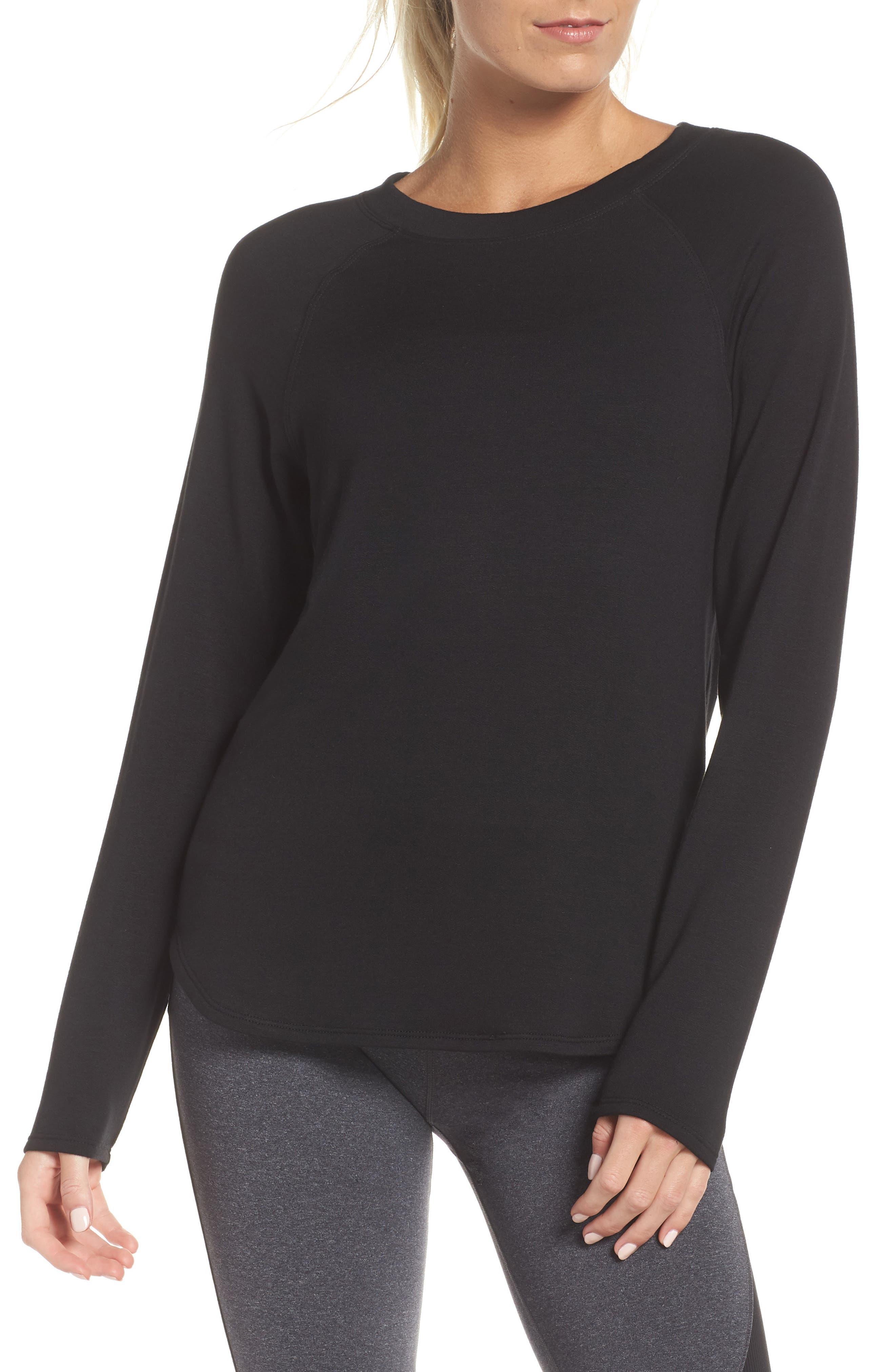 SPLITS59 Warm-Up Pullover in Black