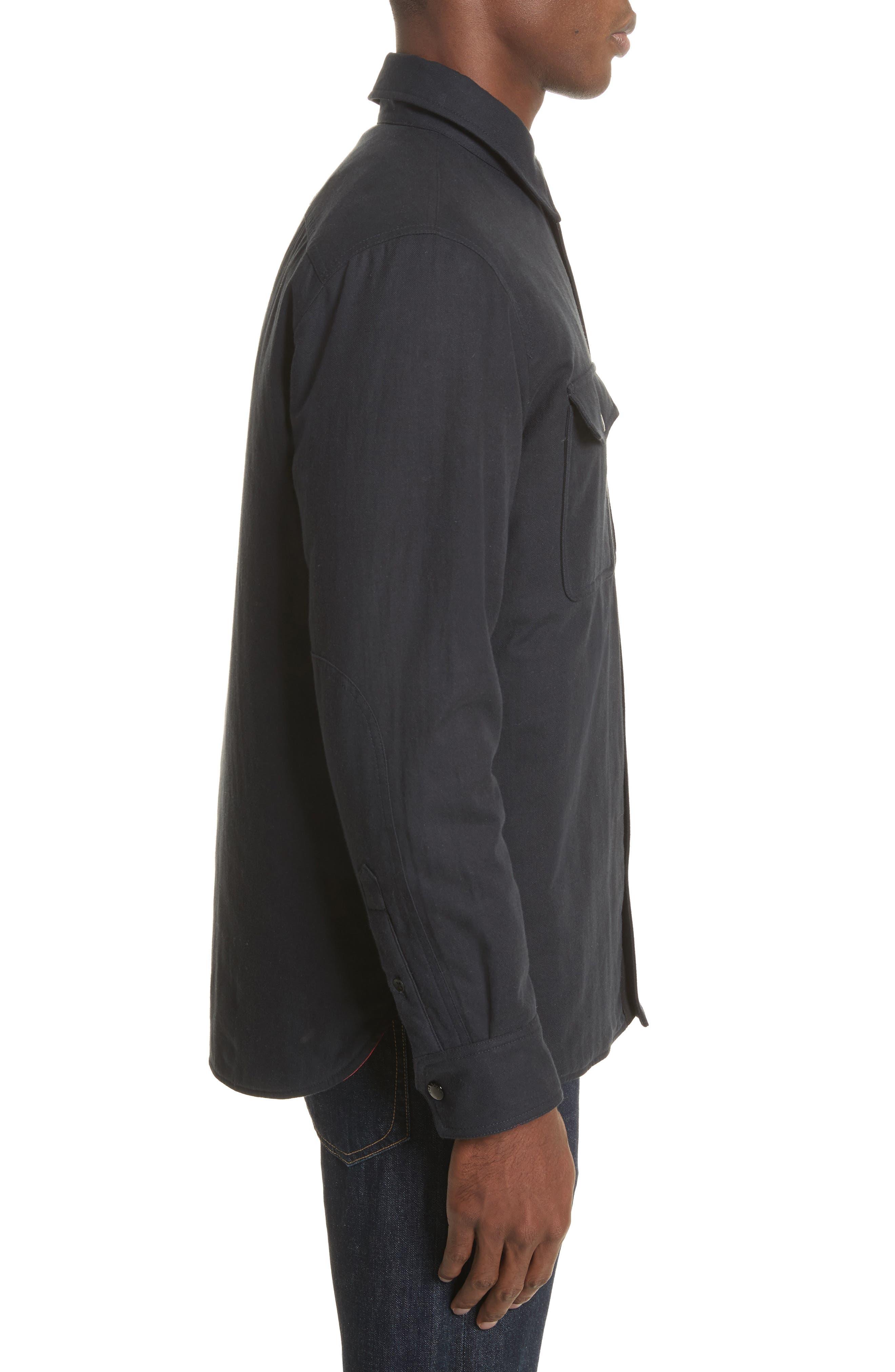 Jack Quilt Lined Shirt Jacket,                             Alternate thumbnail 3, color,                             415