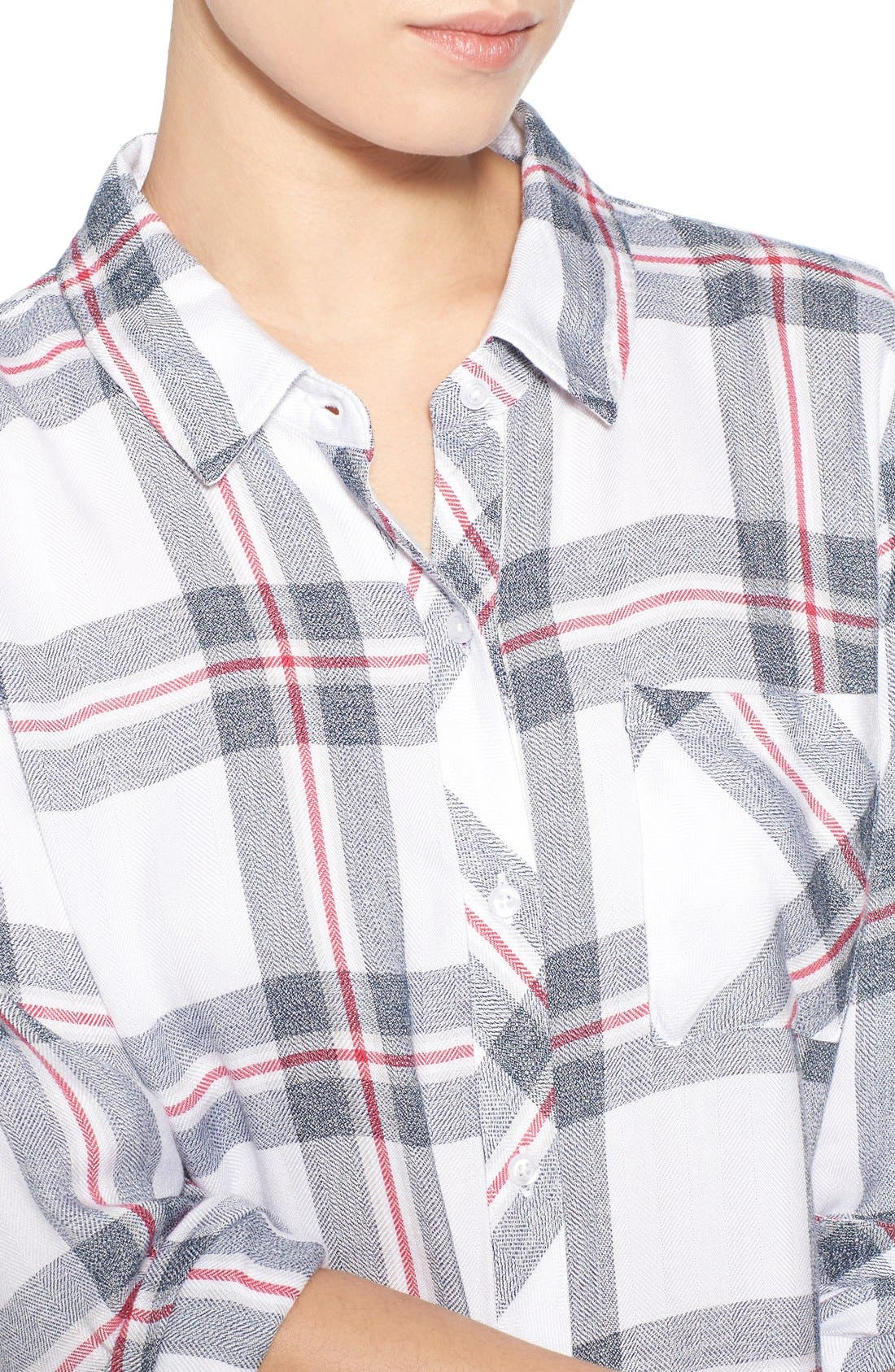 'Hunter' Plaid Shirt,                             Alternate thumbnail 4, color,                             112