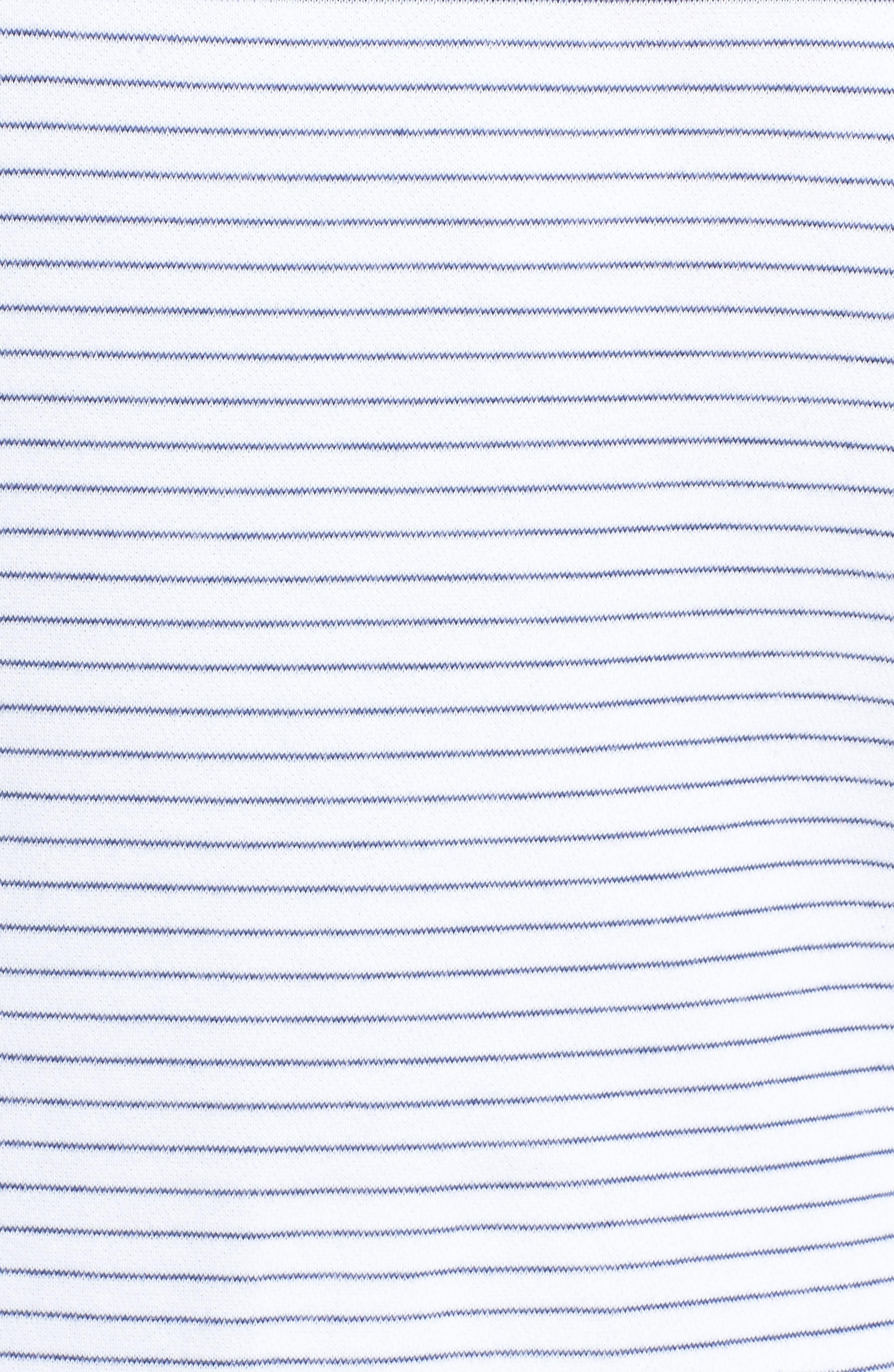 Stripe Hoodie,                             Alternate thumbnail 5, color,                             100
