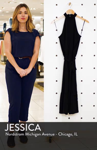 Halter Midi Dress, sales video thumbnail