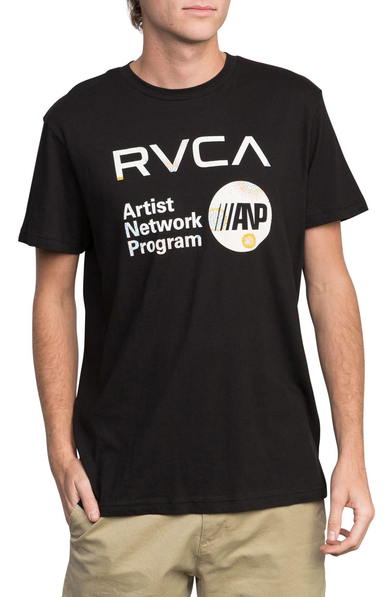 ANP Fill Graphic T-Shirt,                             Main thumbnail 1, color,                             001