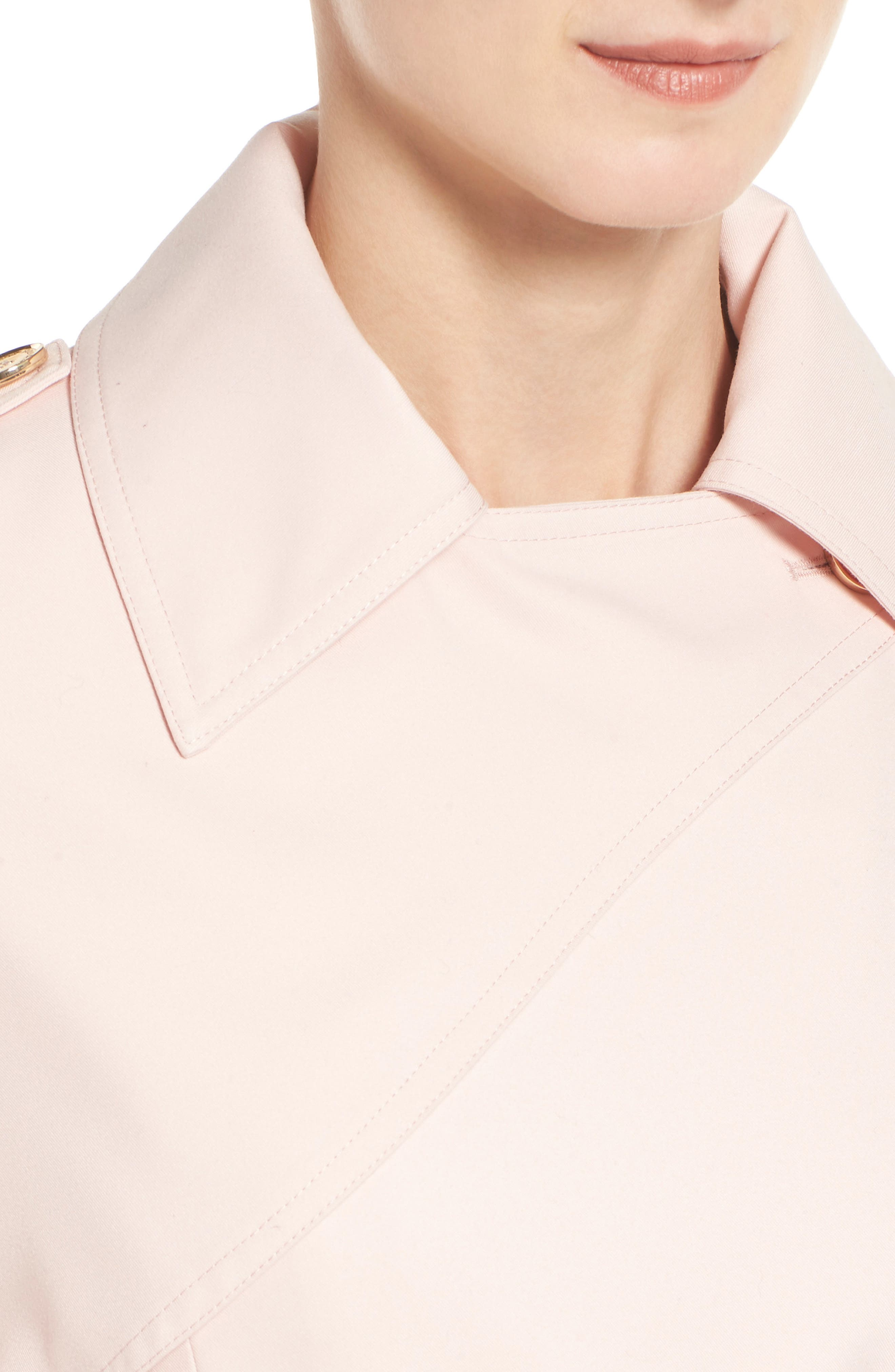 Flowy Belted Trench Coat,                             Alternate thumbnail 17, color,