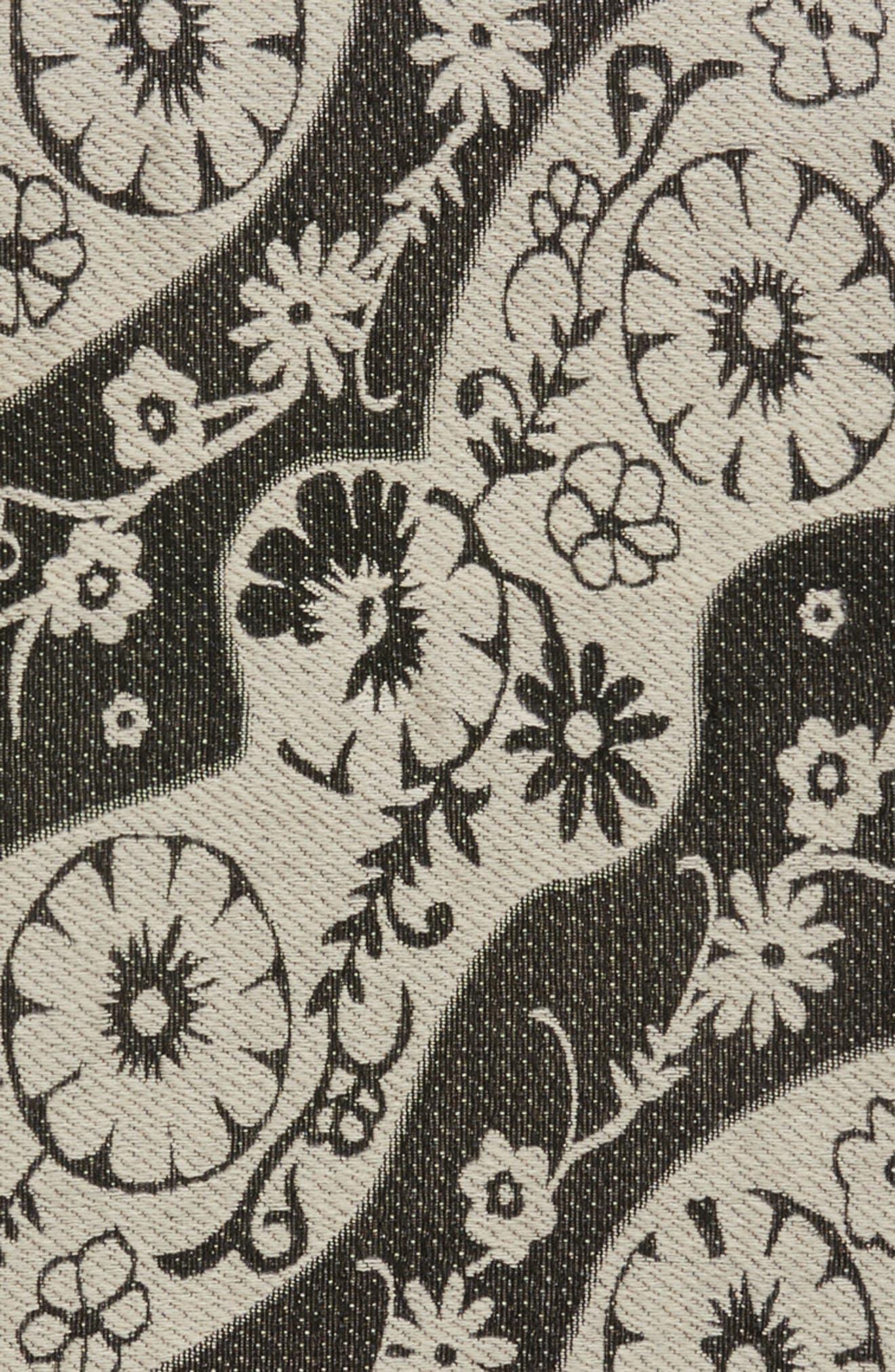 Floral Scarf,                             Alternate thumbnail 4, color,                             900