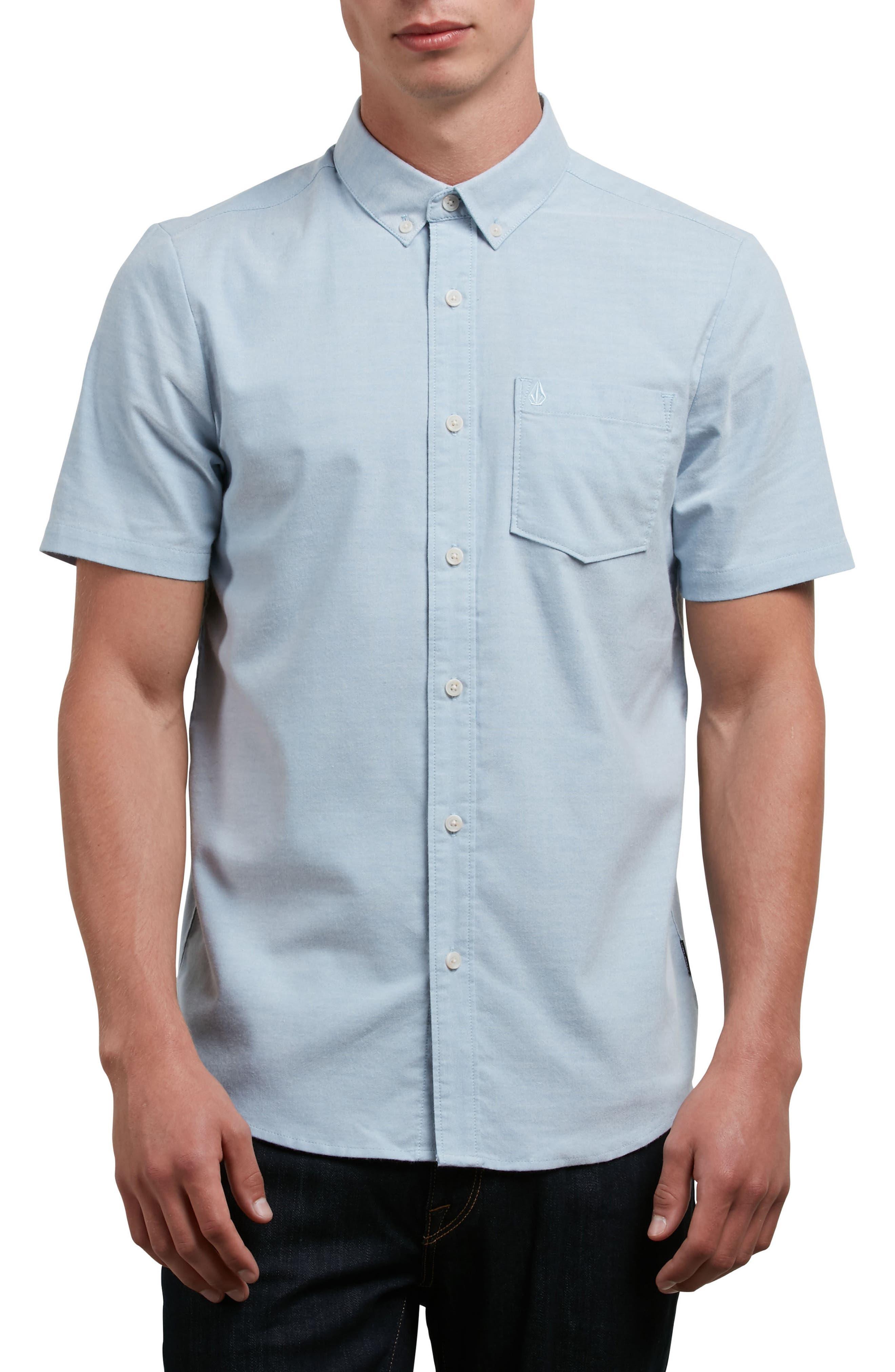 Everett Oxford Shirt,                         Main,                         color, INDIGOWORK