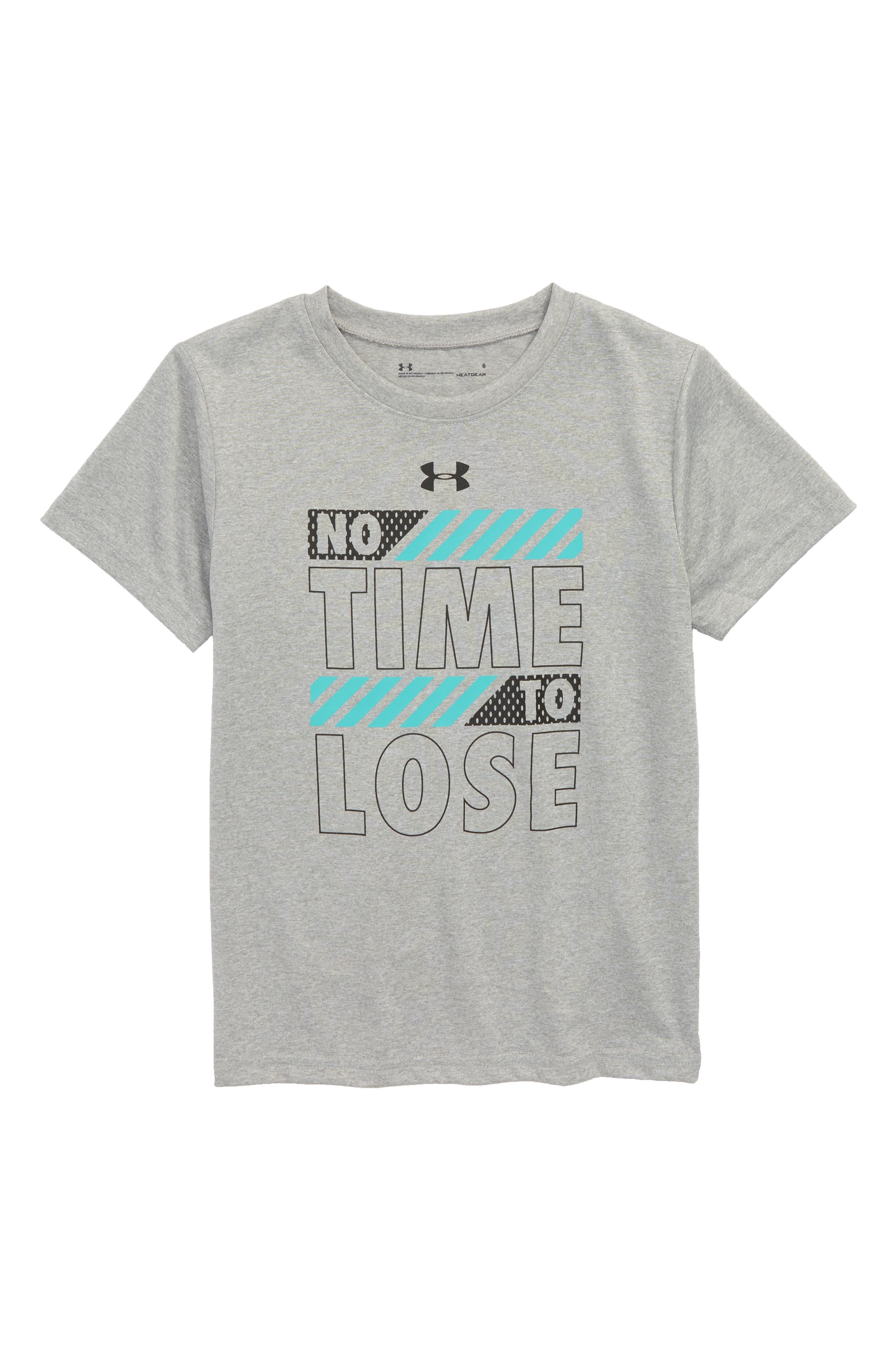 No Time to Lose HeatGear<sup>®</sup> T-Shirt,                             Main thumbnail 1, color,                             020