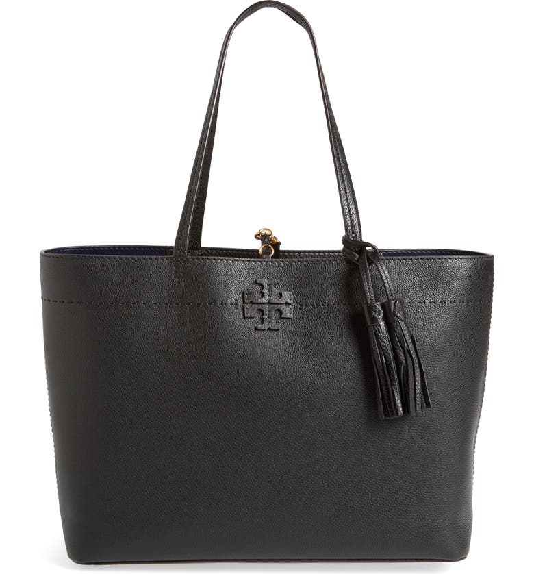 0653c6b1c53 Tory Burch McGraw Leather Laptop Tote