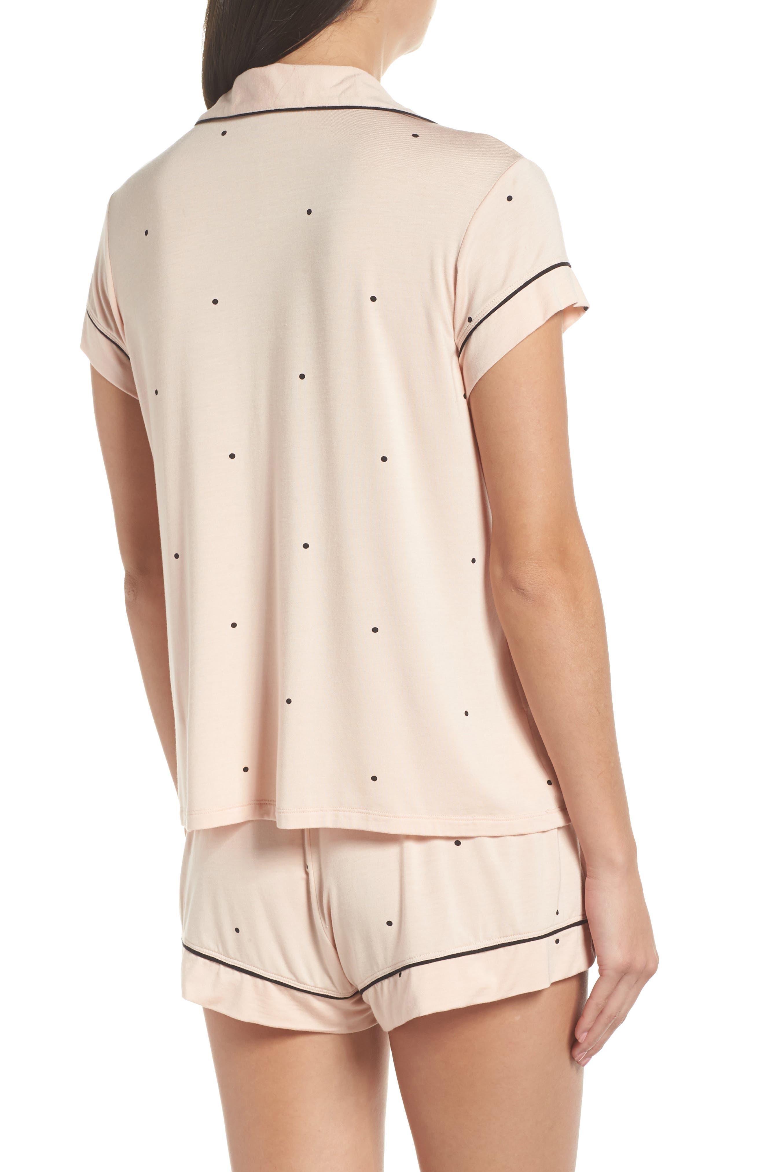 EBERJEY,                             Dots Short Pajamas,                             Alternate thumbnail 2, color,                             655