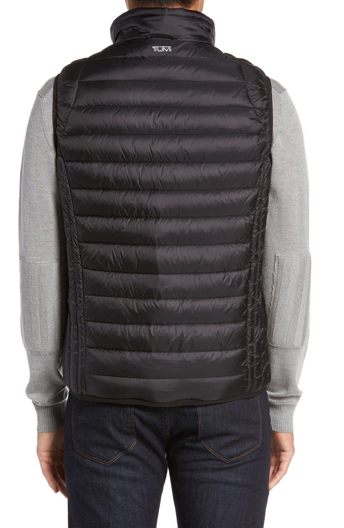 Packable Down Vest,                             Alternate thumbnail 5, color,                             BLACK