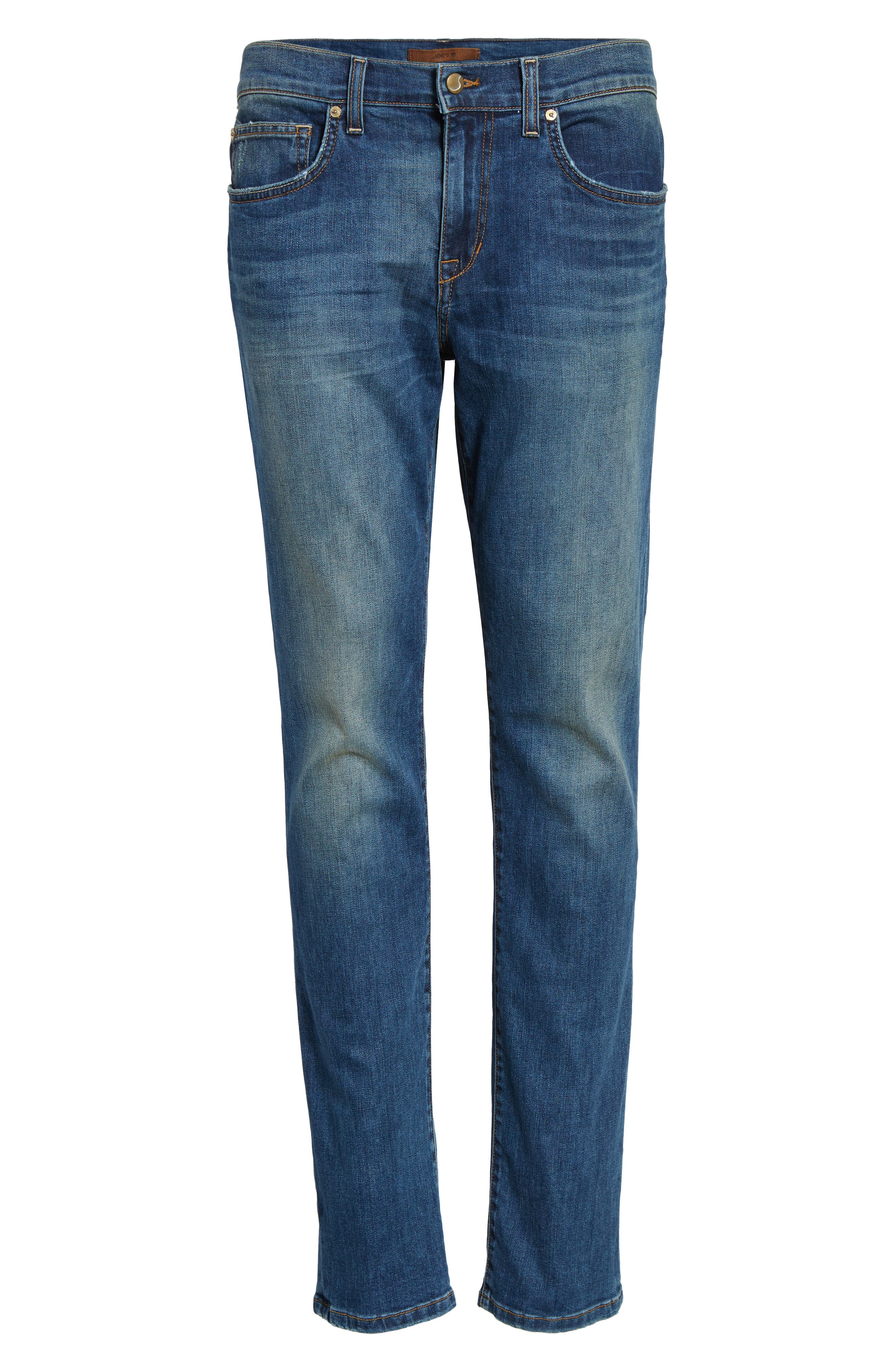 Slim Fit Jeans,                             Alternate thumbnail 6, color,                             439