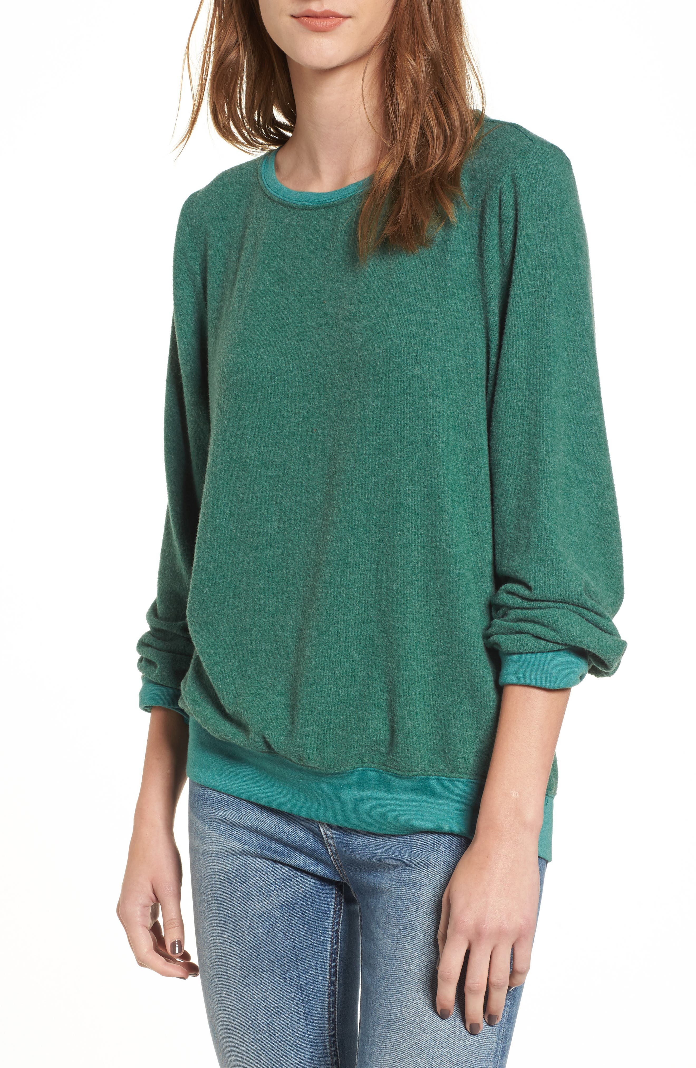 'Baggy Beach Jumper' Pullover,                             Main thumbnail 7, color,